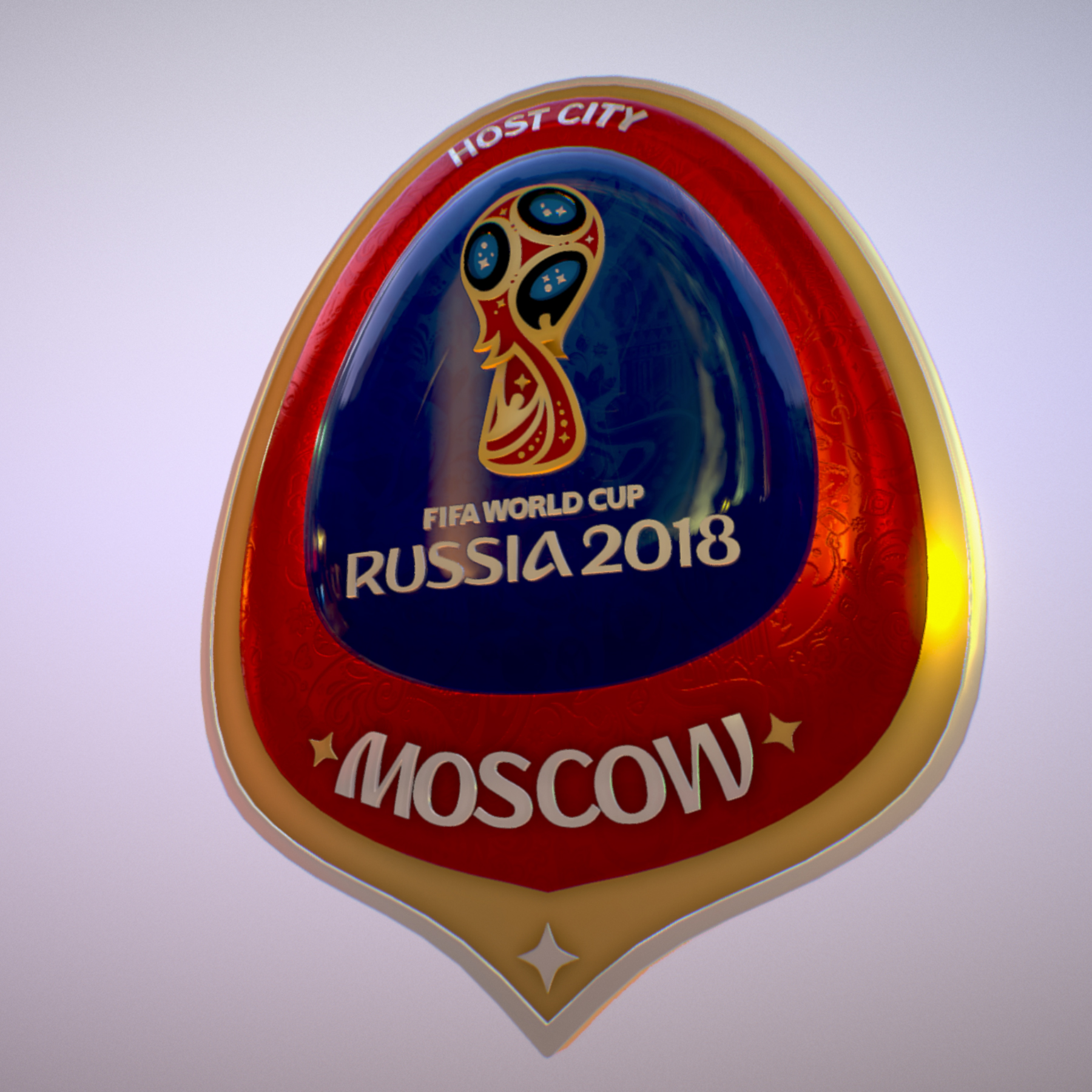 moscow host city world cup russia 2018 symbol 3d model max  fbx jpeg jpg ma mb obj 271655