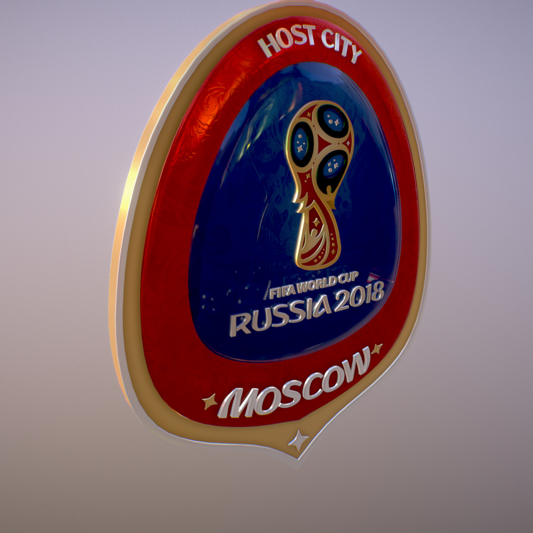moscow host city world cup russia 2018 symbol 3d model max  fbx jpeg jpg ma mb obj 271656