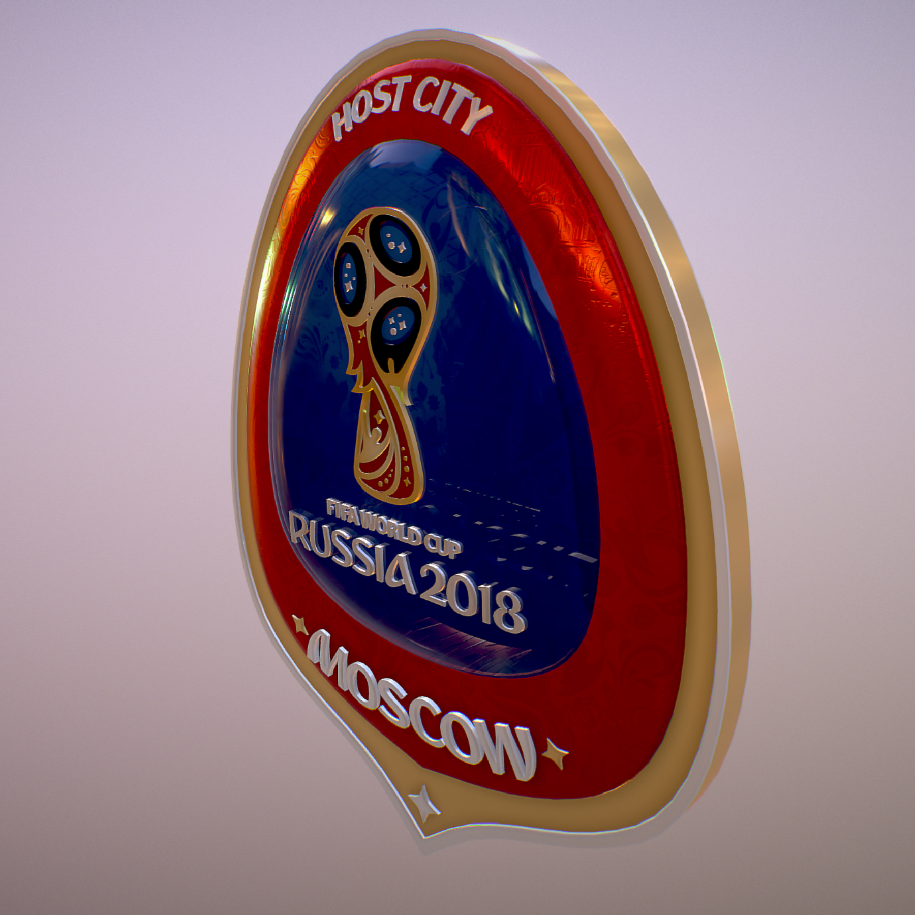 moscow host city world cup russia 2018 symbol 3d model max  fbx jpeg jpg ma mb obj 271657