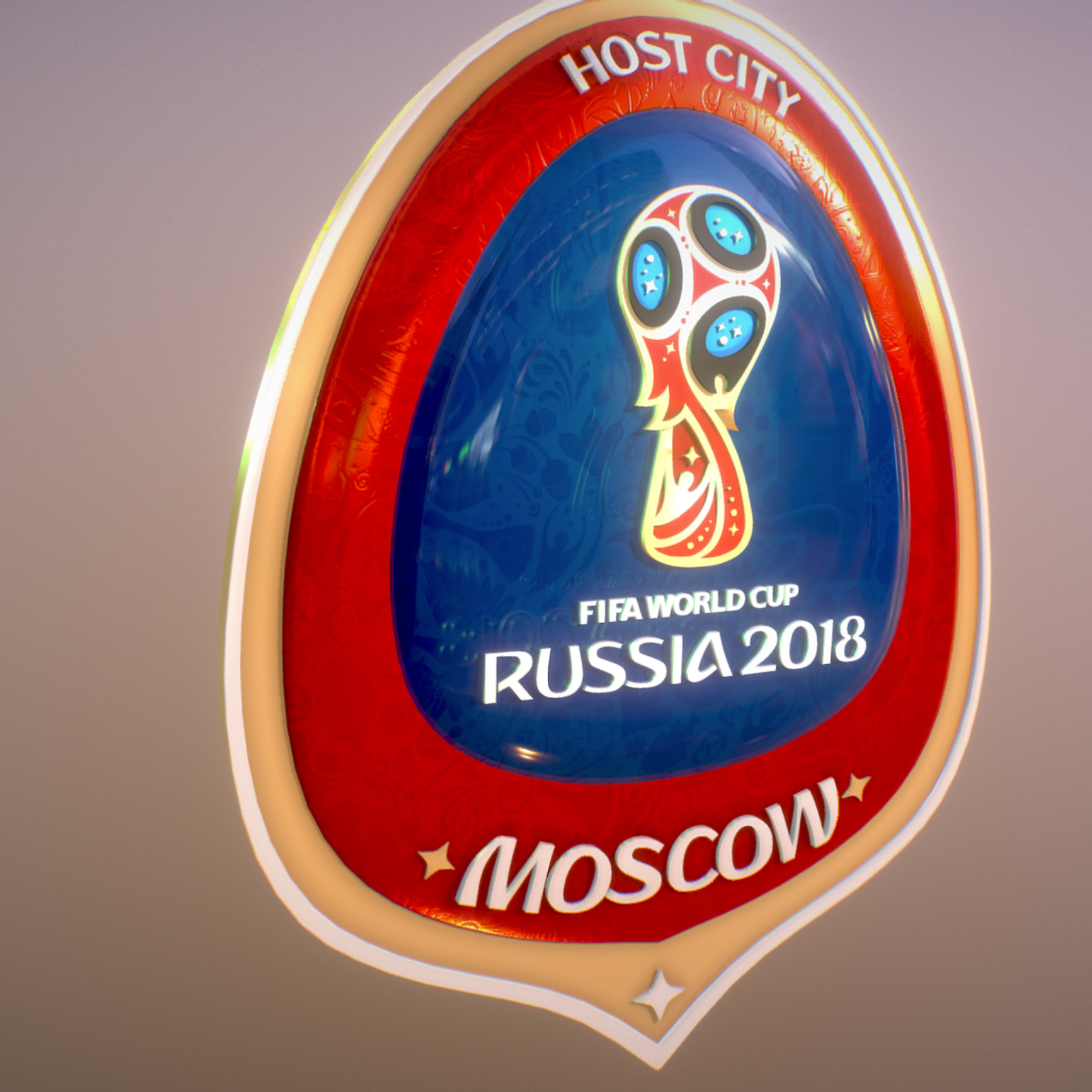 moscow host city world cup russia 2018 symbol 3d model max  fbx jpeg jpg ma mb obj 271659
