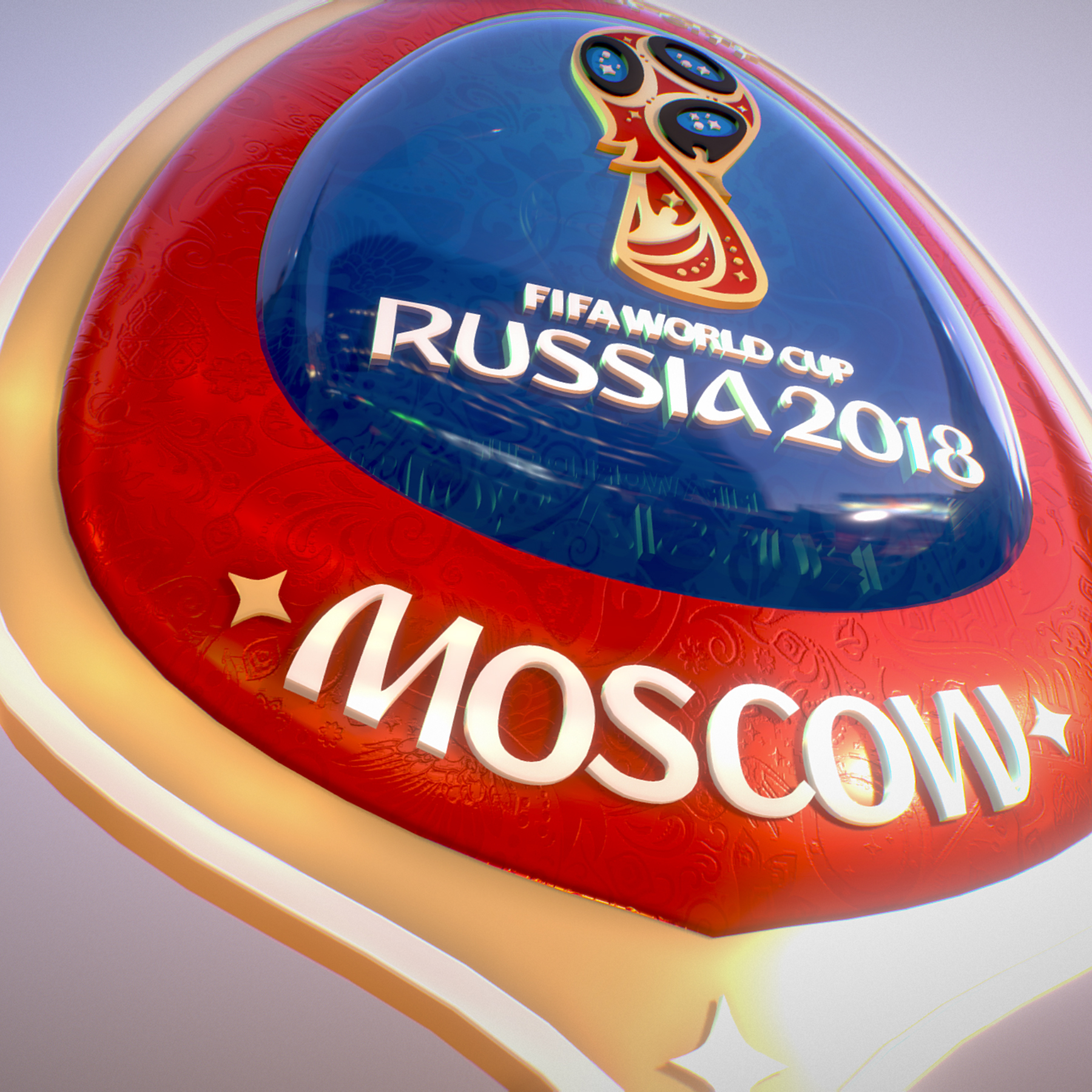 moscow host city world cup russia 2018 symbol 3d model max  fbx jpeg jpg ma mb obj 271660