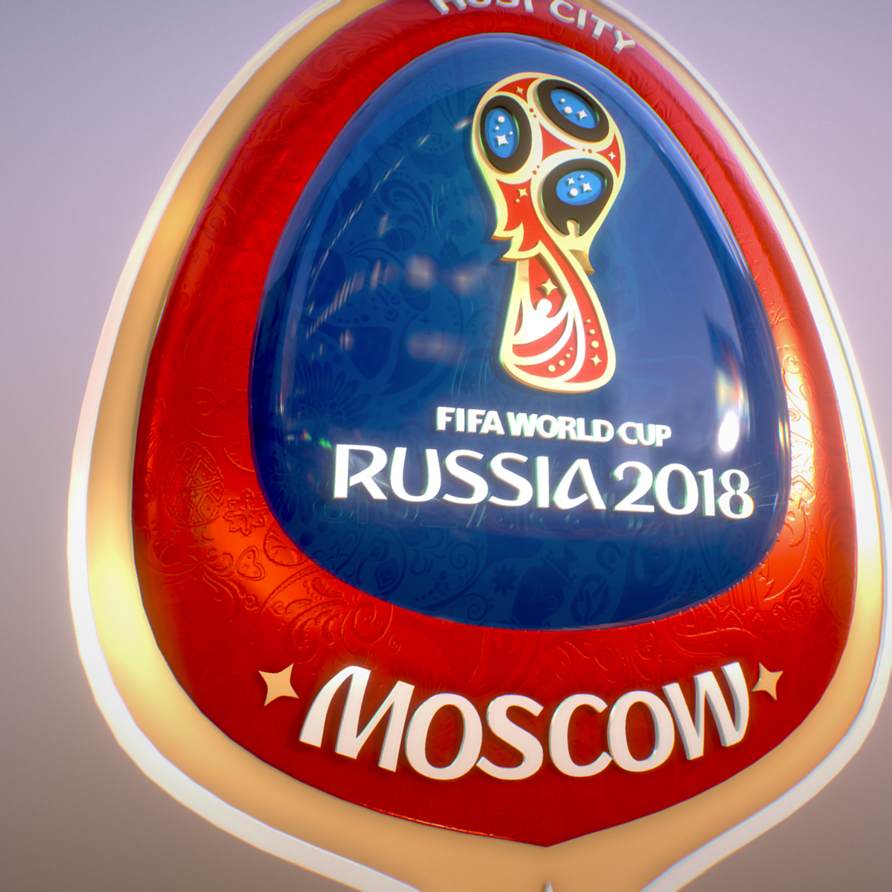 moscow host city world cup russia 2018 symbol 3d model max  fbx jpeg jpg ma mb obj 271661