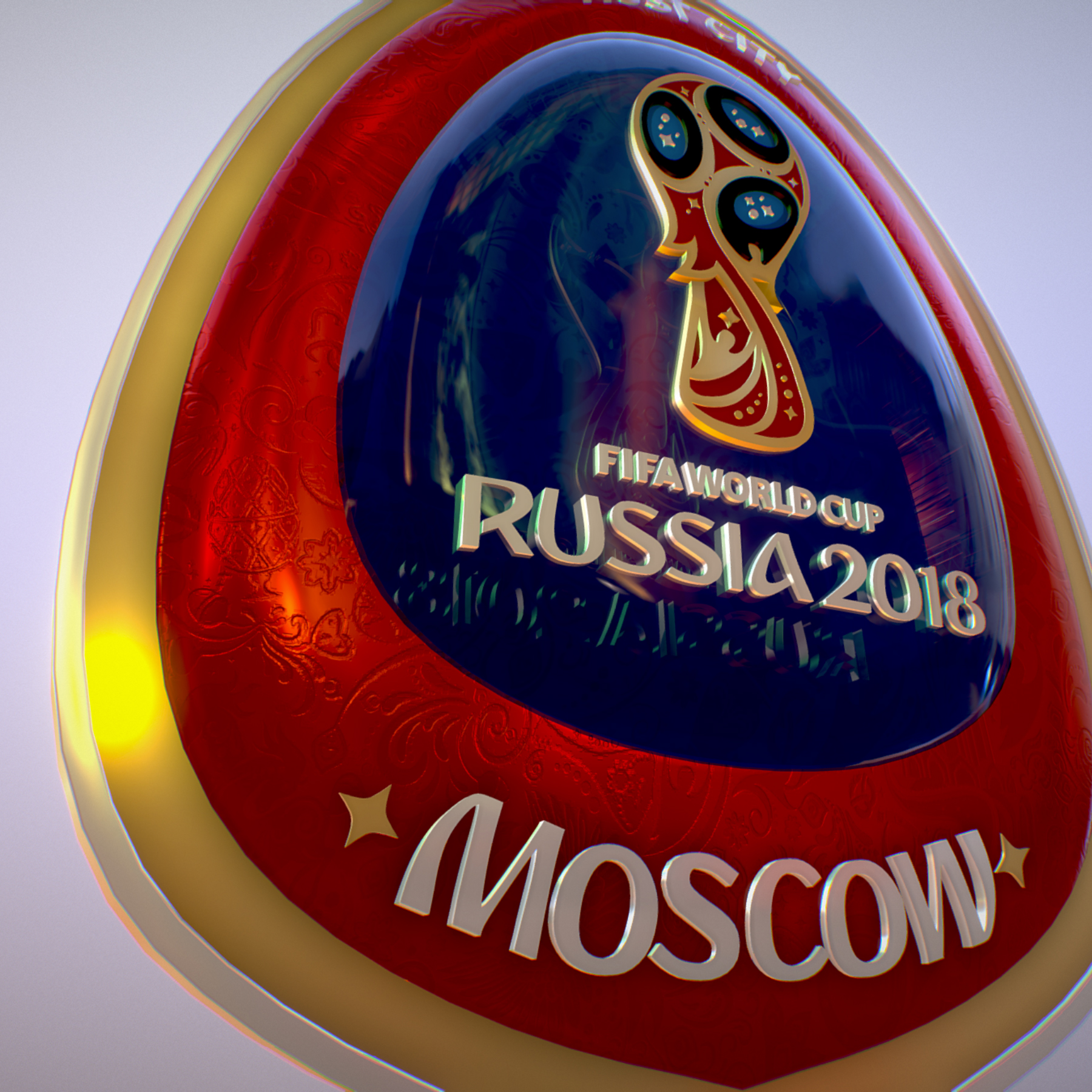 moscow host city world cup russia 2018 symbol 3d model max  fbx jpeg jpg ma mb obj 271662