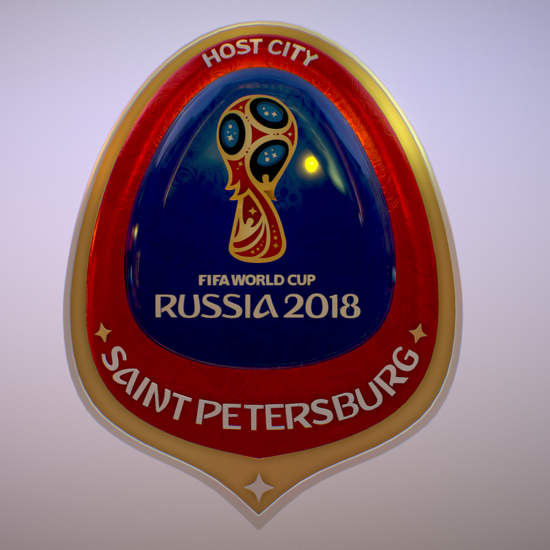 saint-petersburg host city russia 2018 symbol 3d model max  fbx jpeg jpg ma mb obj 271671