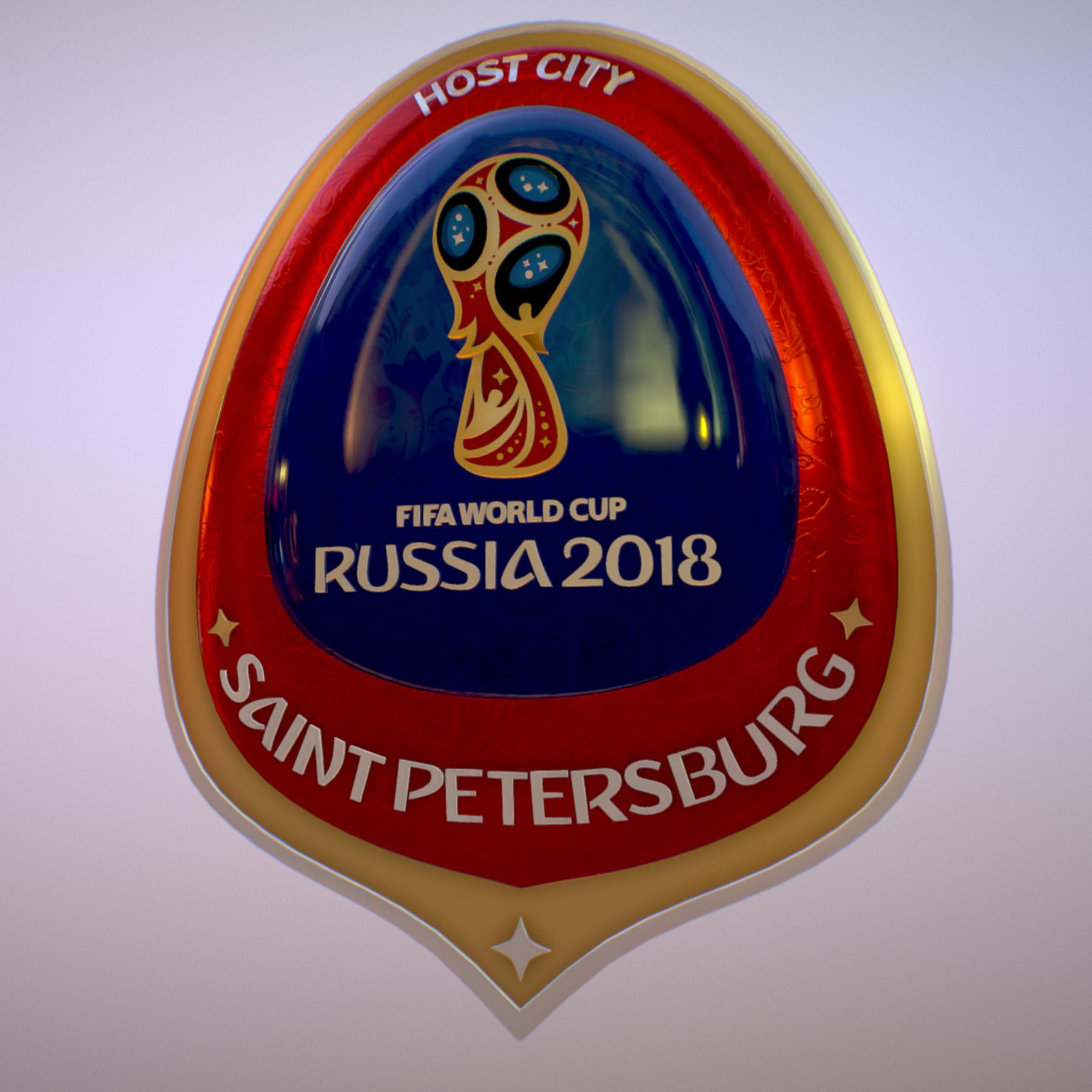 saint-petersburg host city russia 2018 symbol 3d model max  fbx jpeg jpg ma mb obj 271678