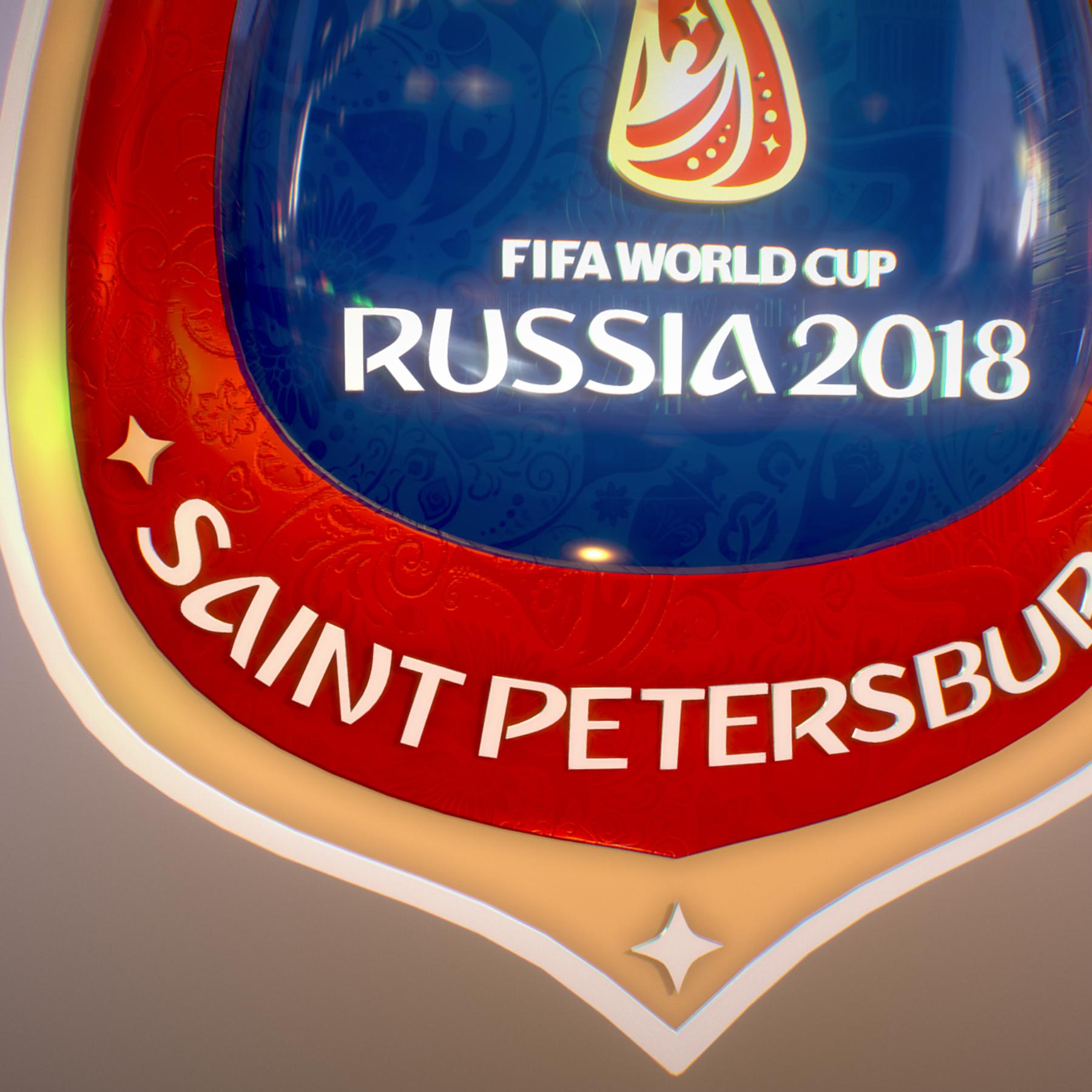 saint-petersburg host city russia 2018 symbol 3d model max  fbx jpeg jpg ma mb obj 271682