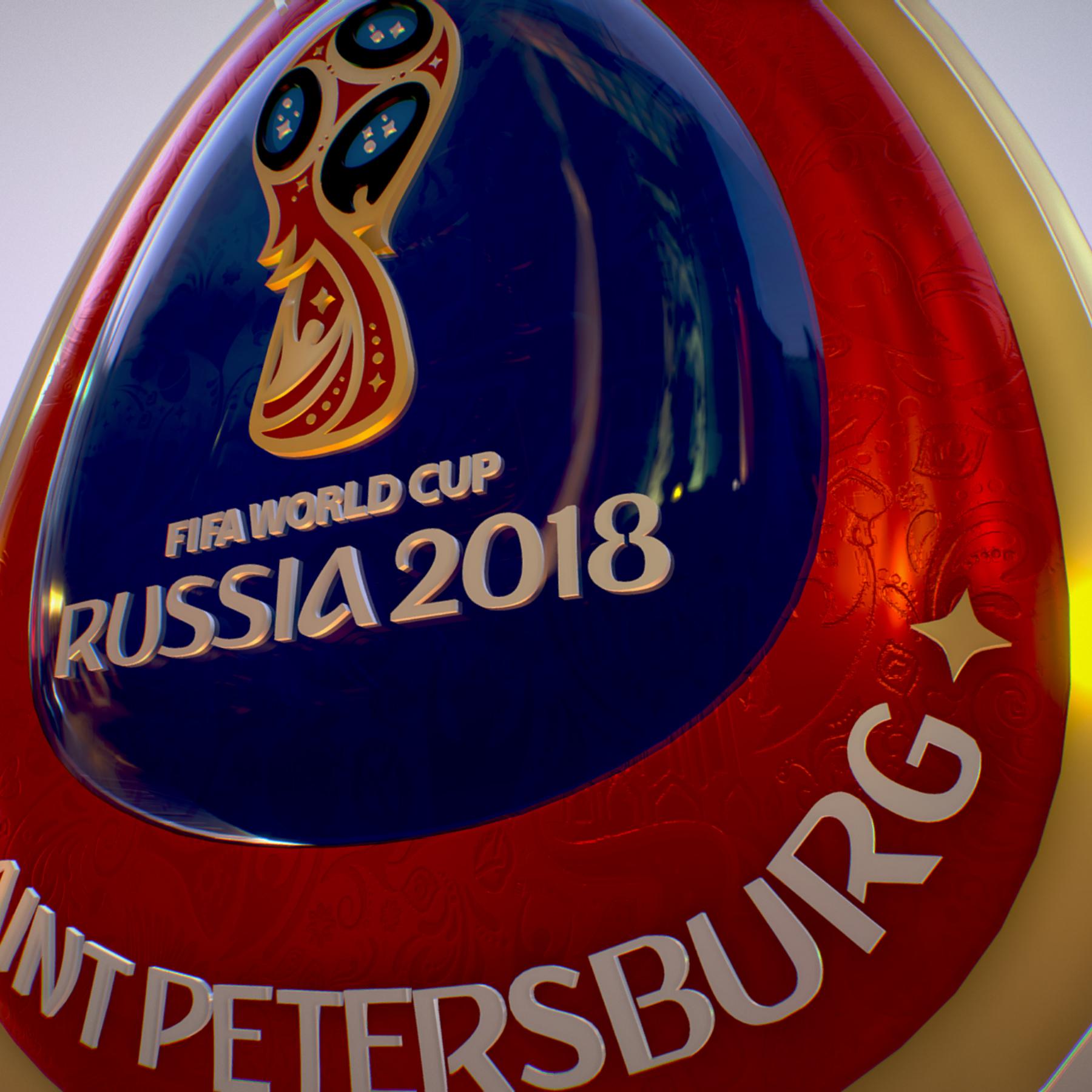 saint-petersburg host city russia 2018 symbol 3d model max  fbx jpeg jpg ma mb obj 271683
