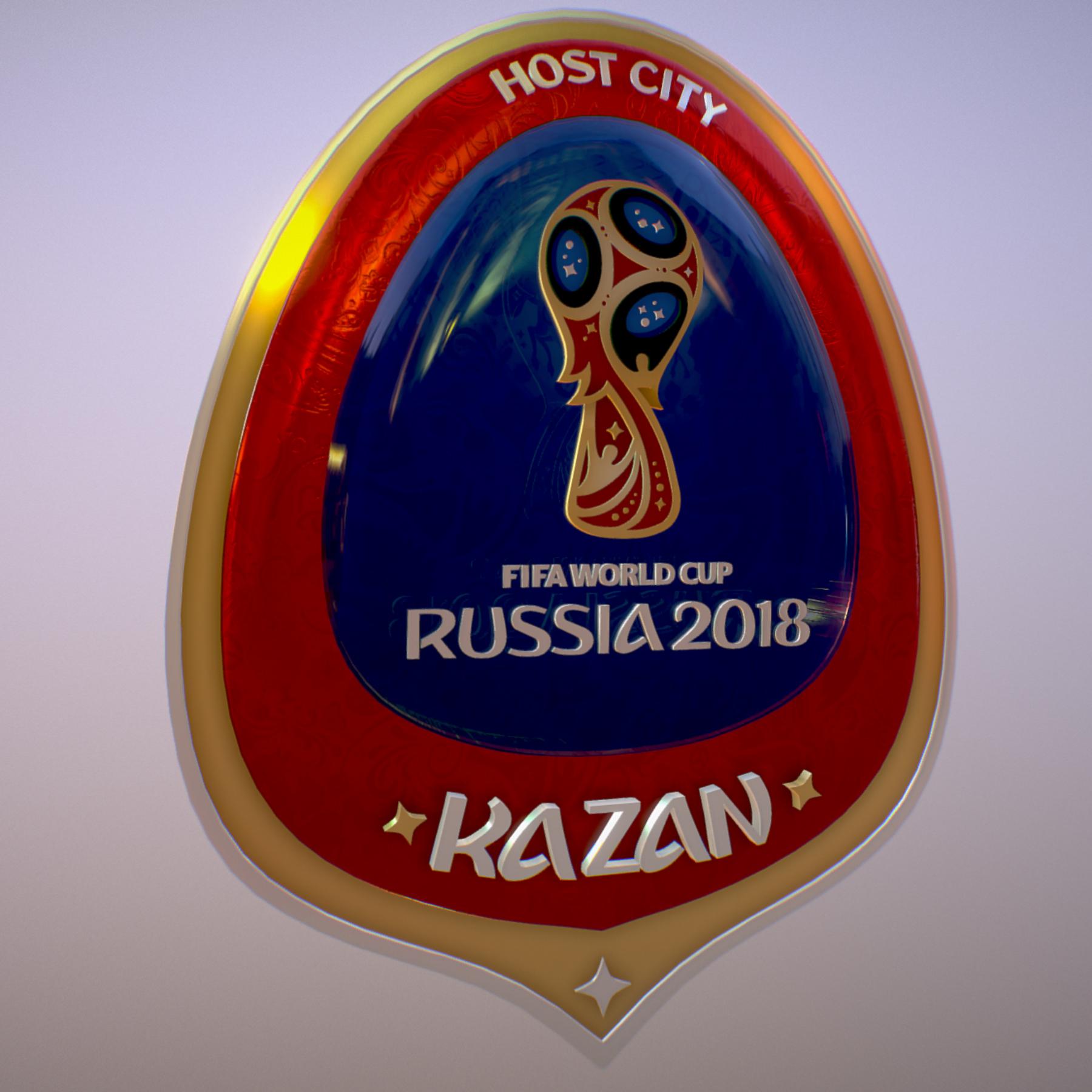 kazan host city world cup russia 2018 symbol 3d model max  fbx jpeg jpg ma mb obj 271692