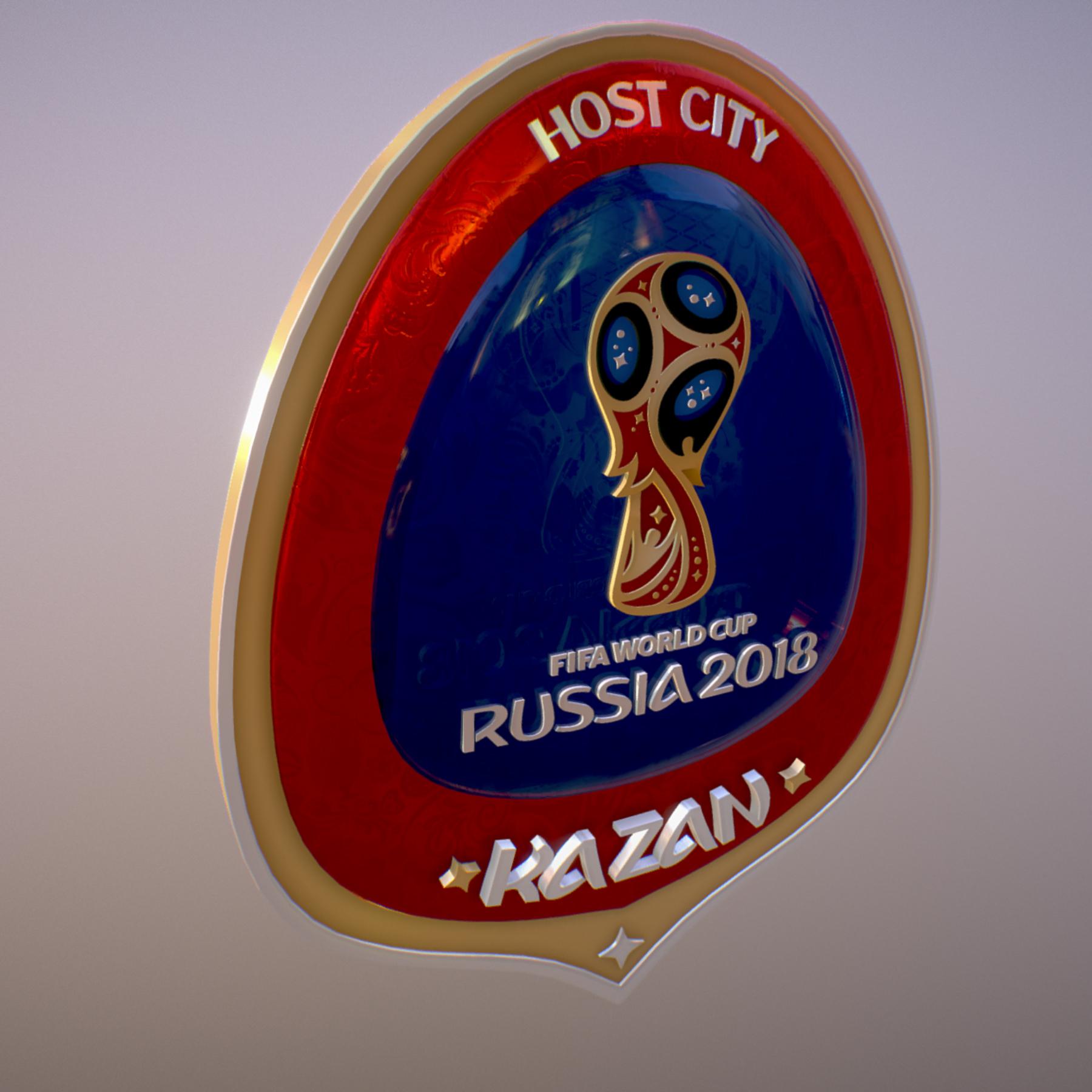 kazan host city world cup russia 2018 symbol 3d model max  fbx jpeg jpg ma mb obj 271693