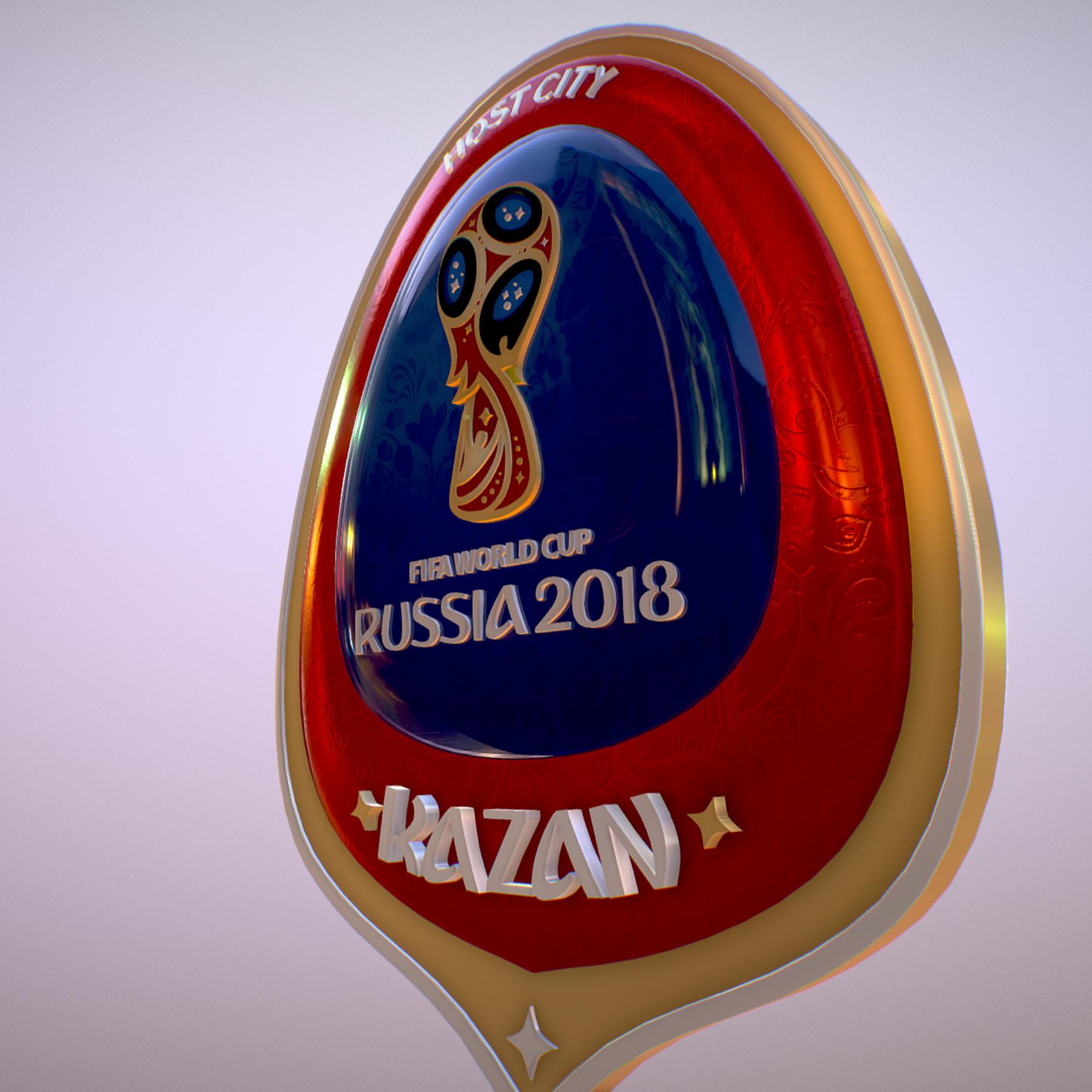 kazan host city world cup russia 2018 symbol 3d model max  fbx jpeg jpg ma mb obj 271694