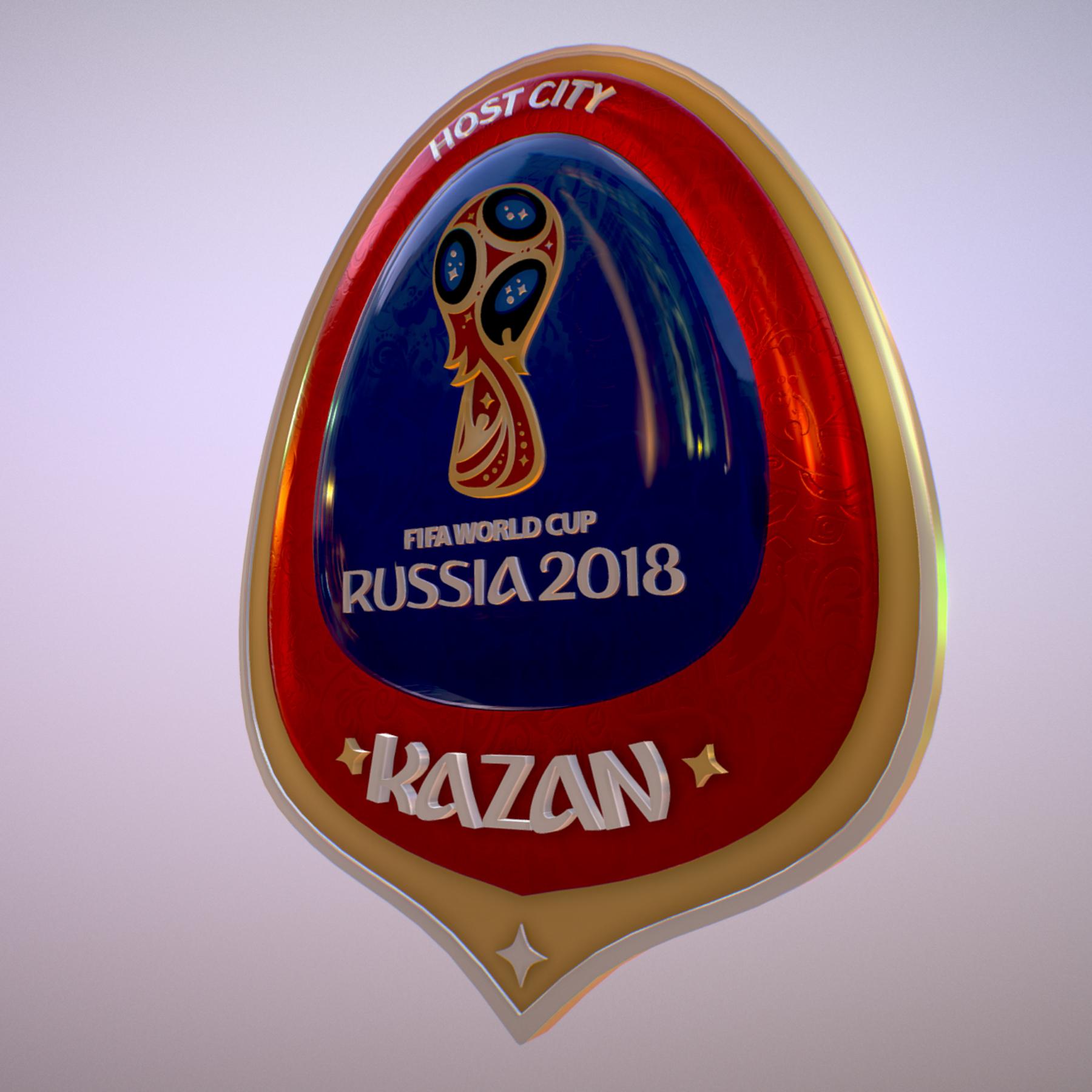 kazan host city world cup russia 2018 symbol 3d model max  fbx jpeg jpg ma mb obj 271695