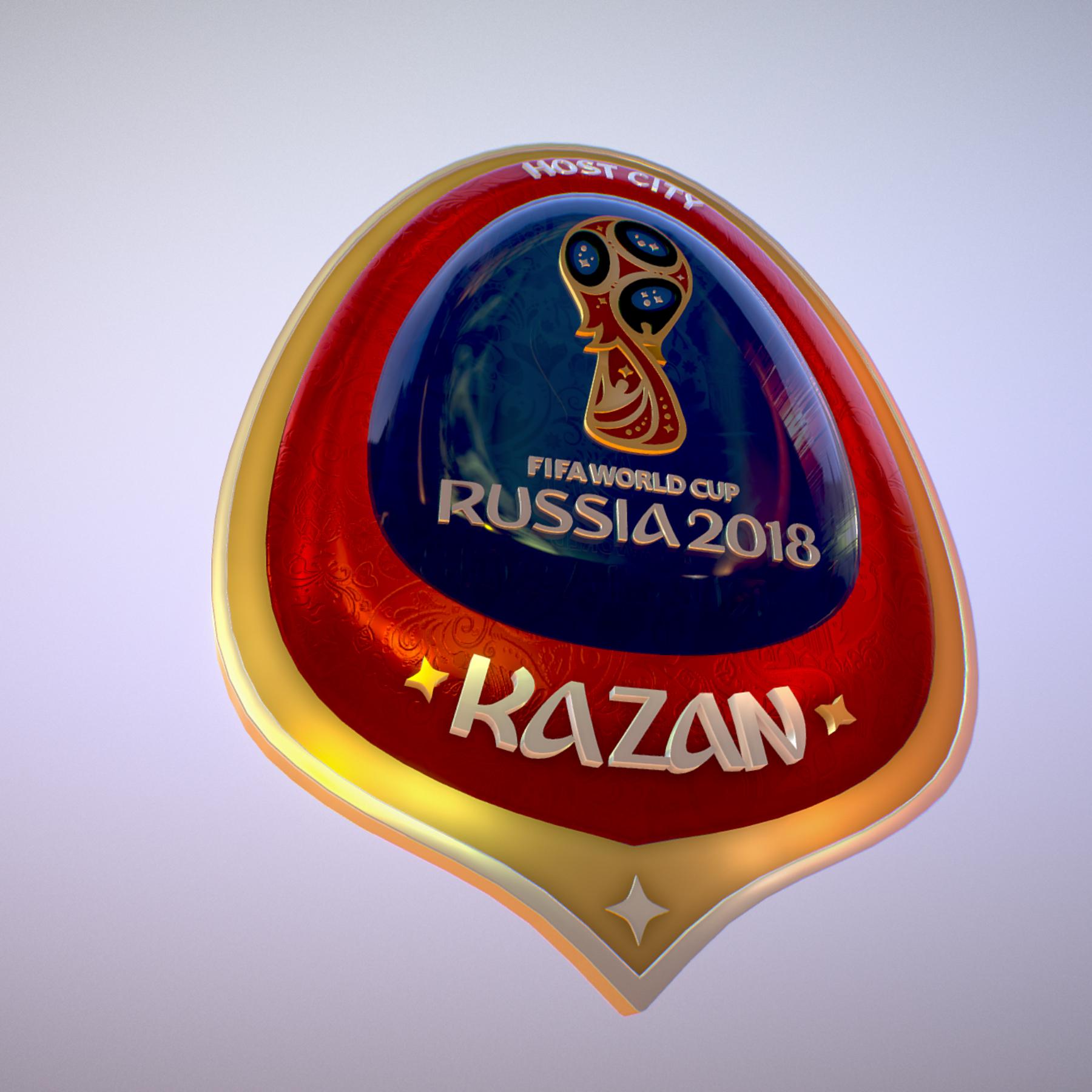 kazan host city world cup russia 2018 symbol 3d model max  fbx jpeg jpg ma mb obj 271696