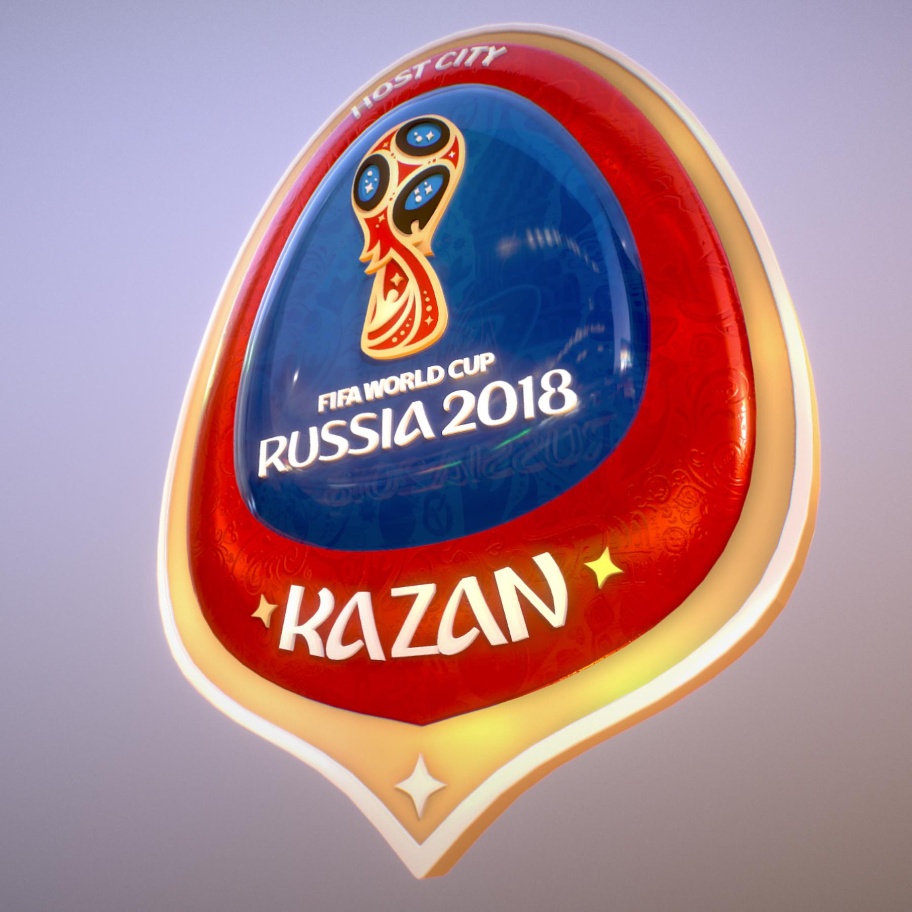 kazan host city world cup russia 2018 symbol 3d model max  fbx jpeg jpg ma mb obj 271698