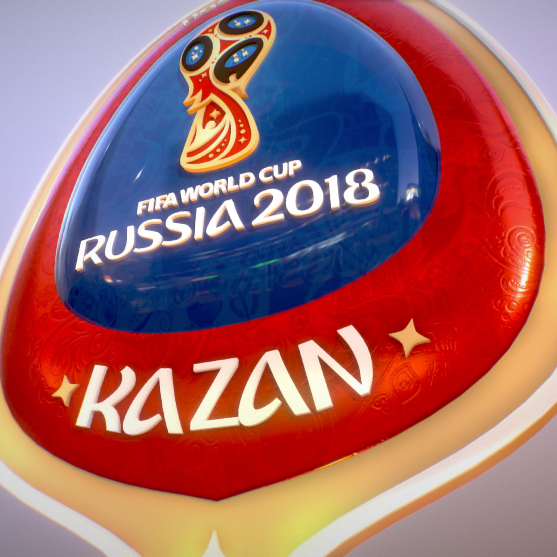 kazan host city world cup russia 2018 symbol 3d model max  fbx jpeg jpg ma mb obj 271699