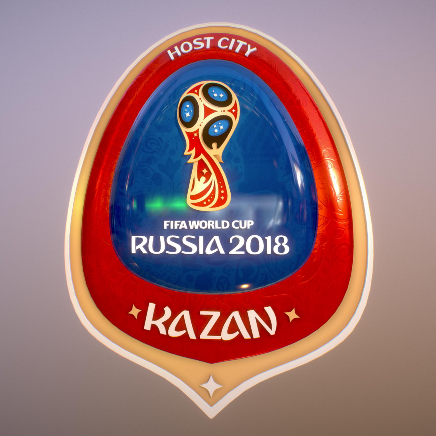 kazan host city world cup russia 2018 symbol 3d model max  fbx jpeg jpg ma mb obj 271701