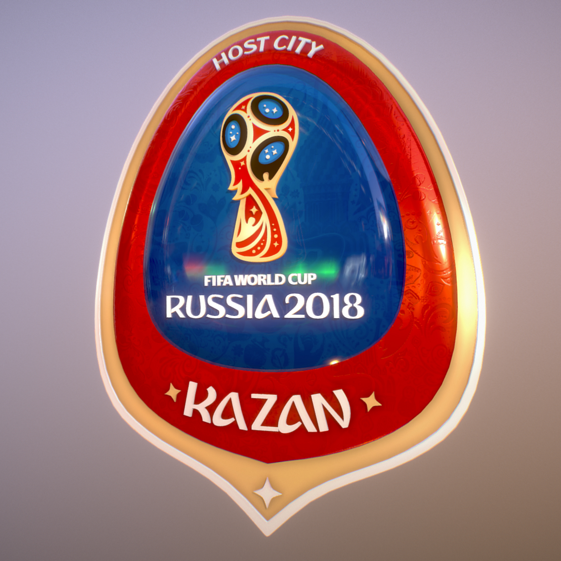 kazan host city world cup russia 2018 symbol 3d model max  fbx jpeg jpg ma mb obj 271702