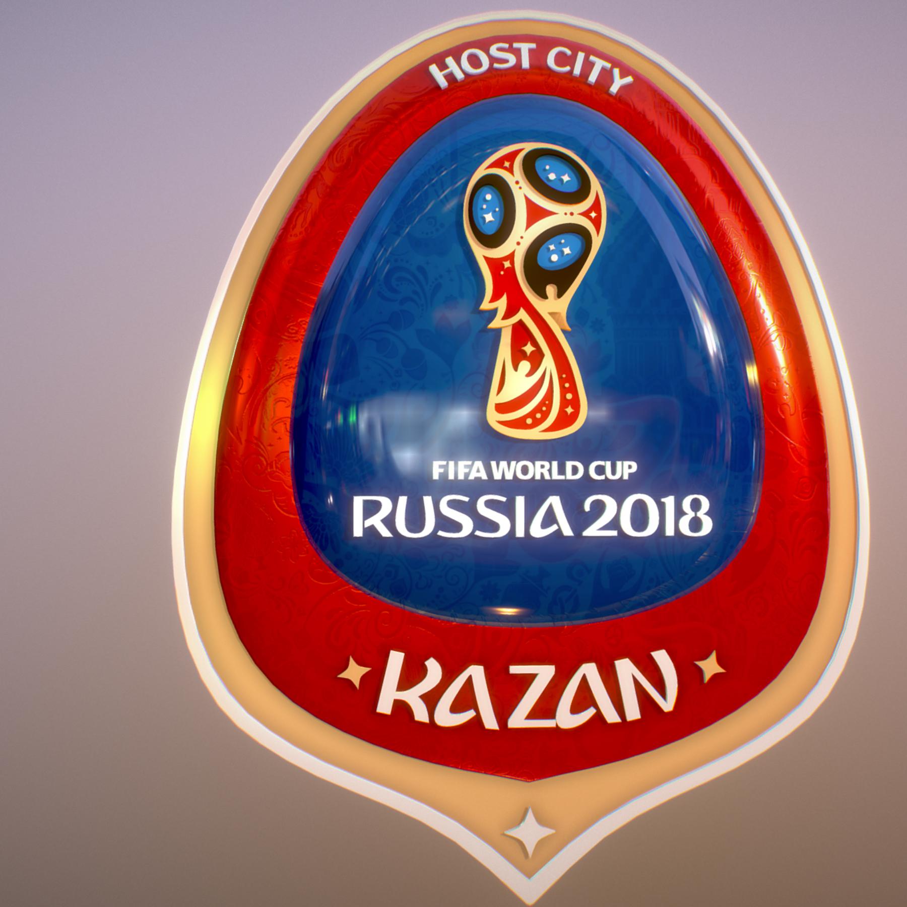 kazan host city world cup russia 2018 symbol 3d model max  fbx jpeg jpg ma mb obj 271703