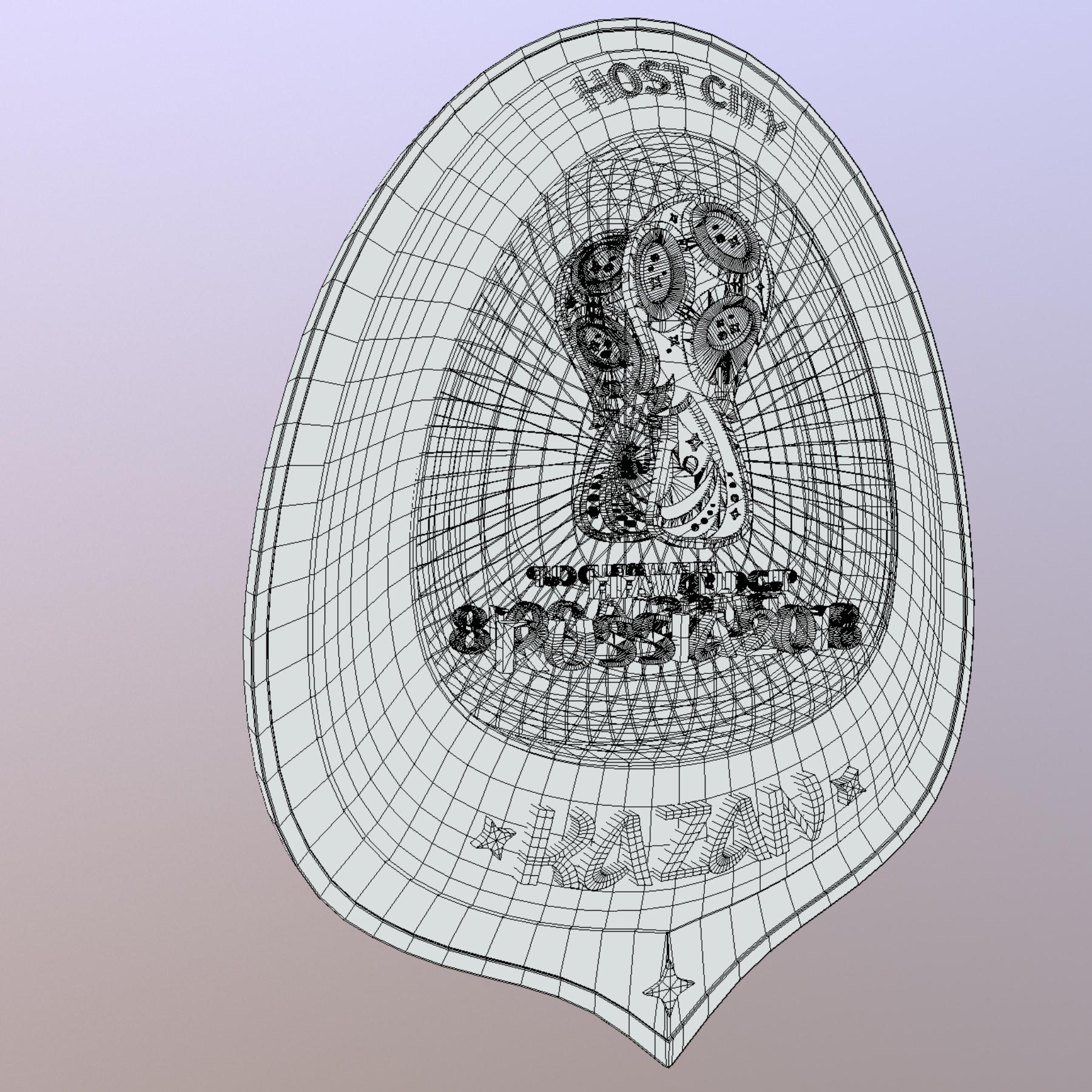 kazan host city world cup russia 2018 symbol 3d model max  fbx jpeg jpg ma mb obj 271705