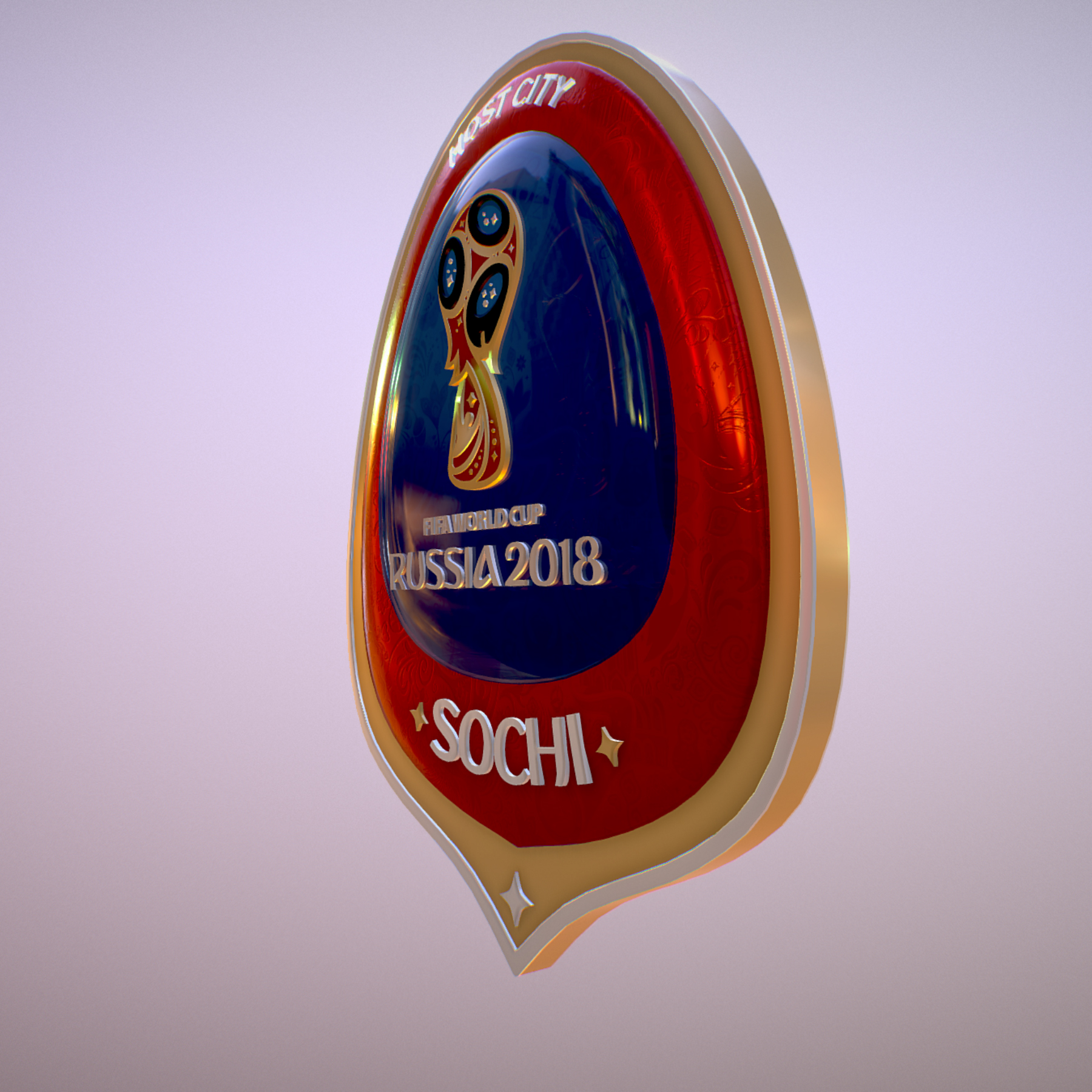 sochi host city world cup russia 2018 symbol 3d model max  fbx ma mb obj 271710