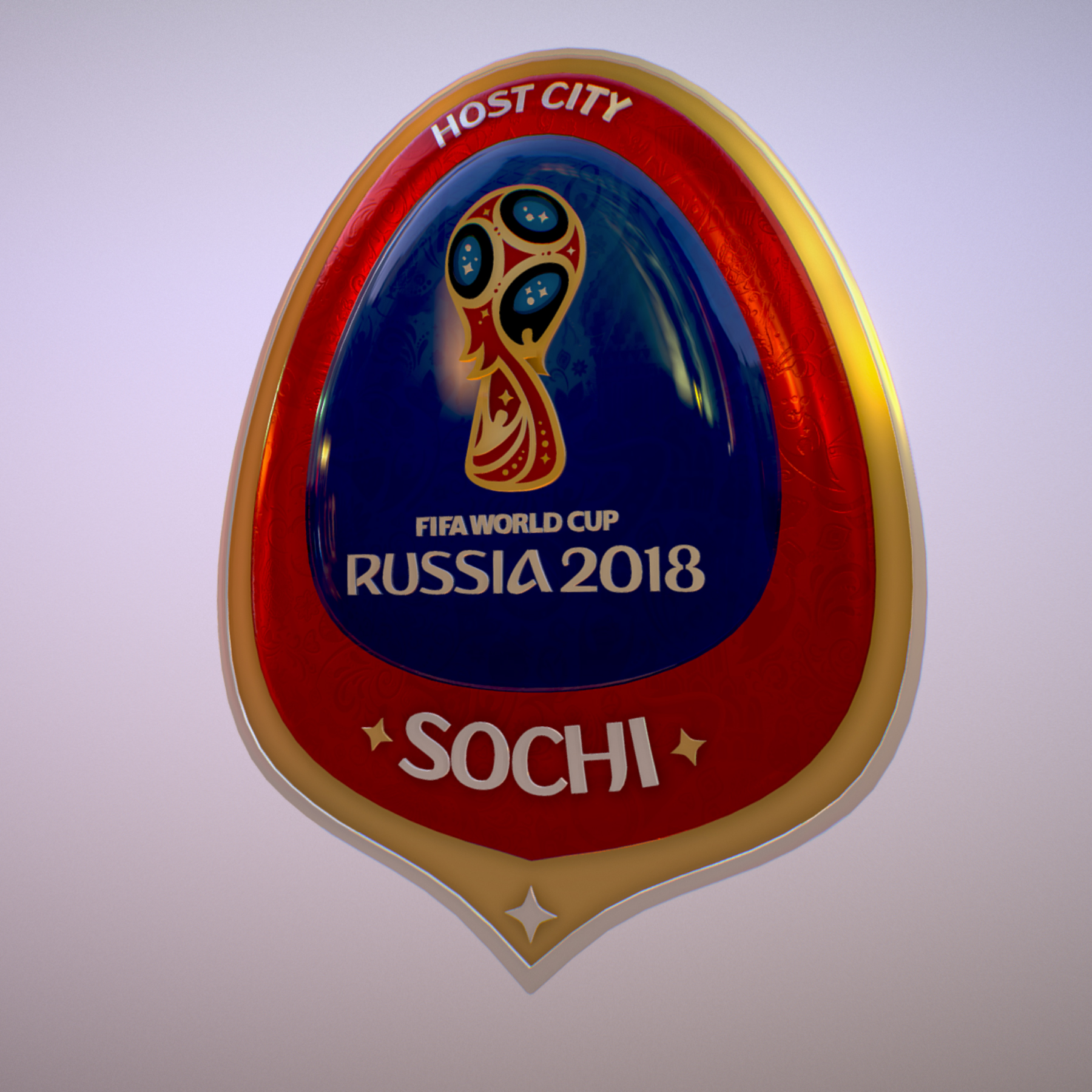 sochi host city world cup russia 2018 symbol 3d model max  fbx ma mb obj 271711