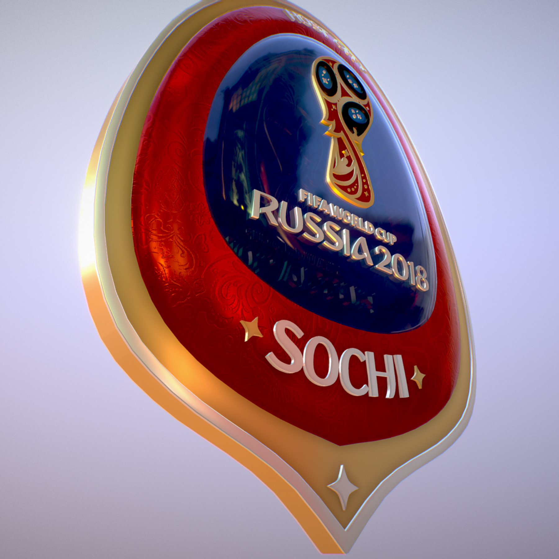 sochi host city world cup russia 2018 symbol 3d model max  fbx ma mb obj 271714