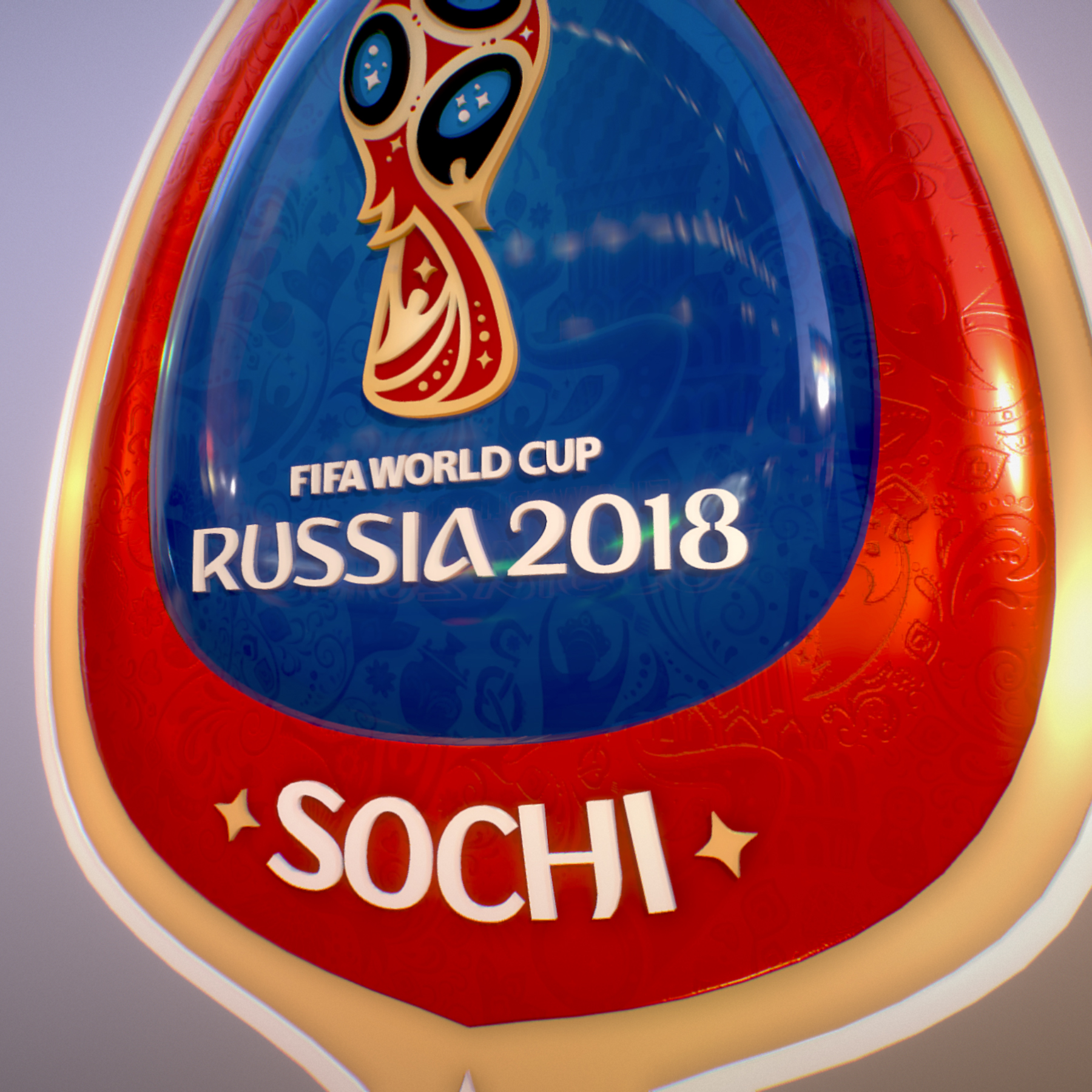 sochi host city world cup russia 2018 symbol 3d model max  fbx ma mb obj 271717