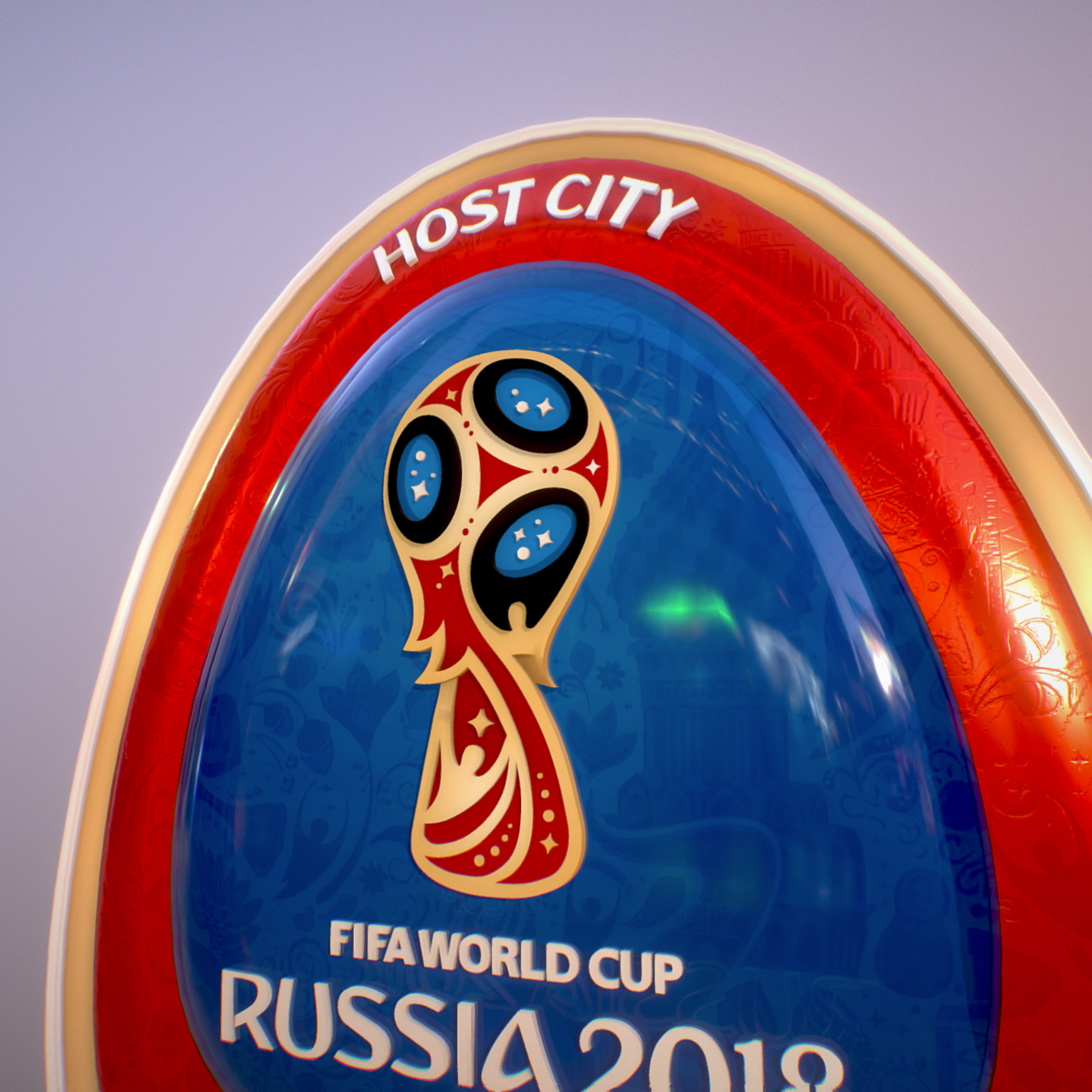 sochi host city world cup russia 2018 symbol 3d model max  fbx ma mb obj 271718