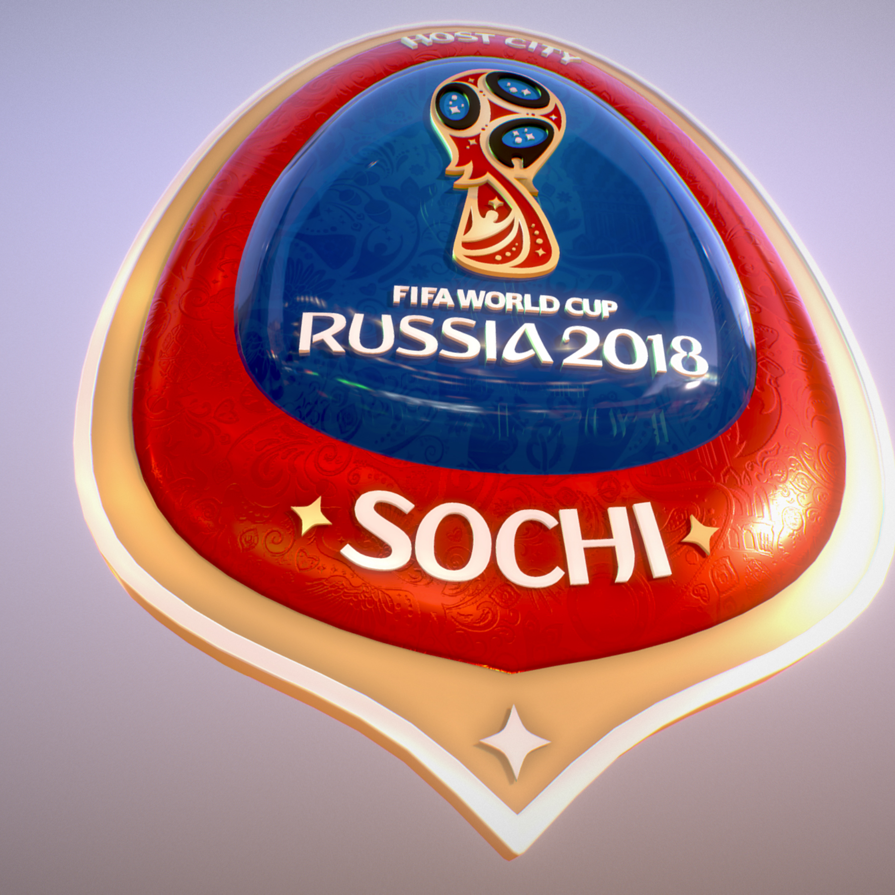 sochi host city world cup russia 2018 symbol 3d model max  fbx ma mb obj 271720