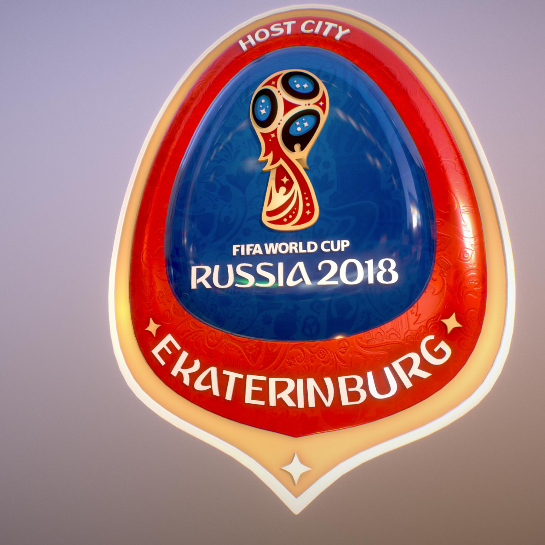 ekaterinburg city world cup russia 2018 symbol 3d model max  fbx jpeg jpg ma mb obj 271729