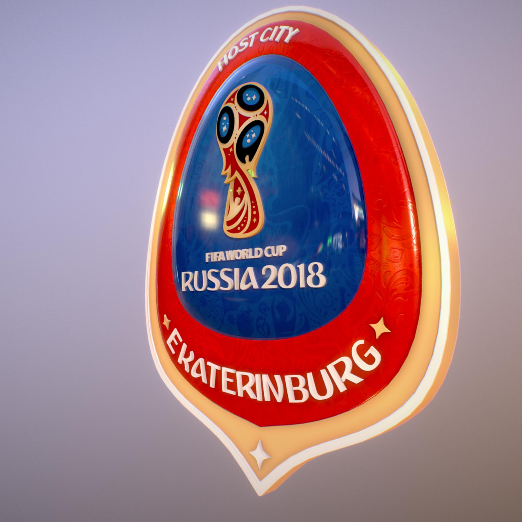 ekaterinburg city world cup russia 2018 symbol 3d model max  fbx jpeg jpg ma mb obj 271730