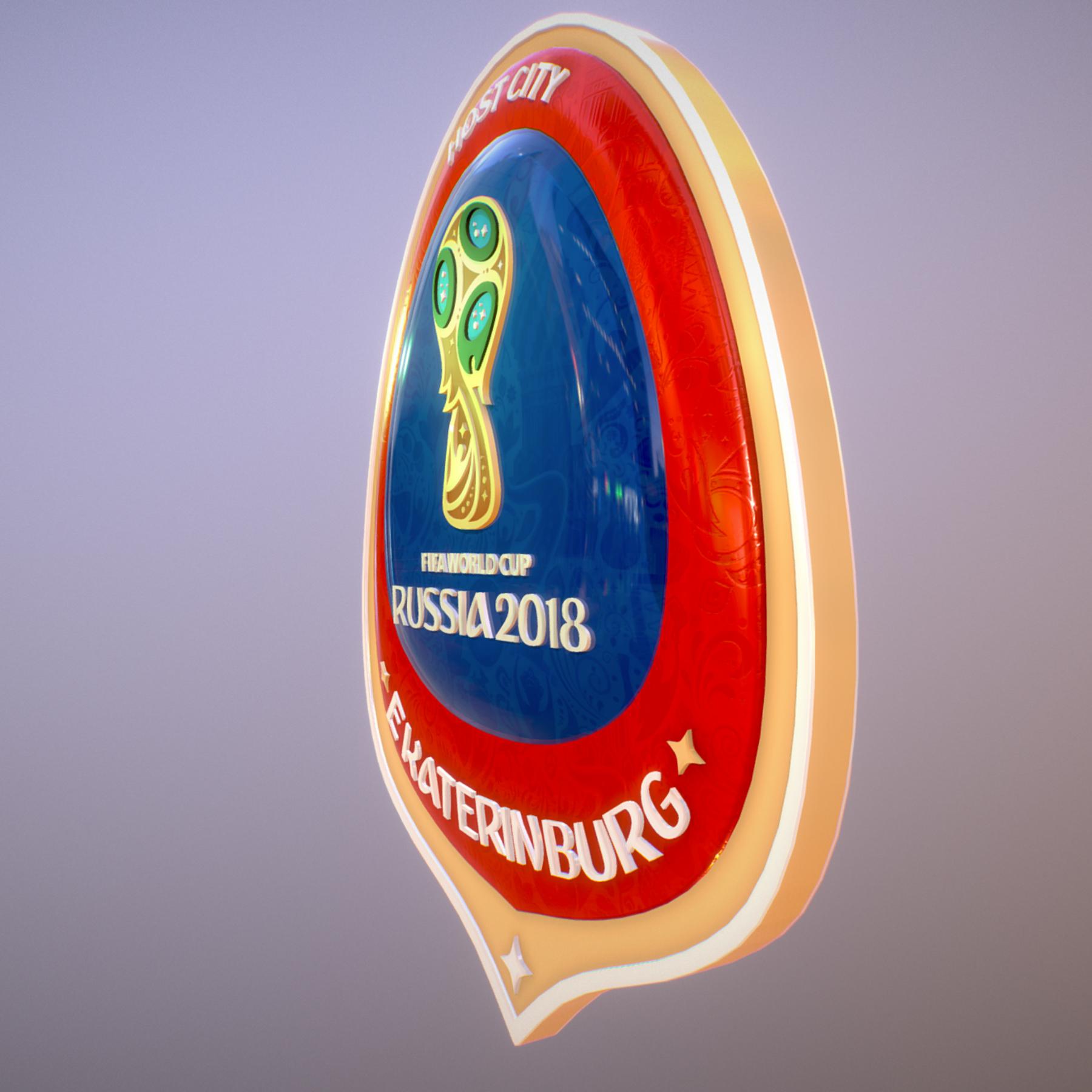 ekaterinburg city world cup russia 2018 symbol 3d model max  fbx jpeg jpg ma mb obj 271731