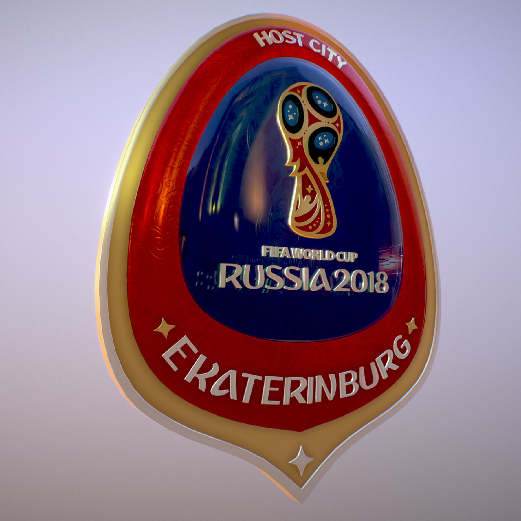 ekaterinburg city world cup russia 2018 symbol 3d model max  fbx jpeg jpg ma mb obj 271732