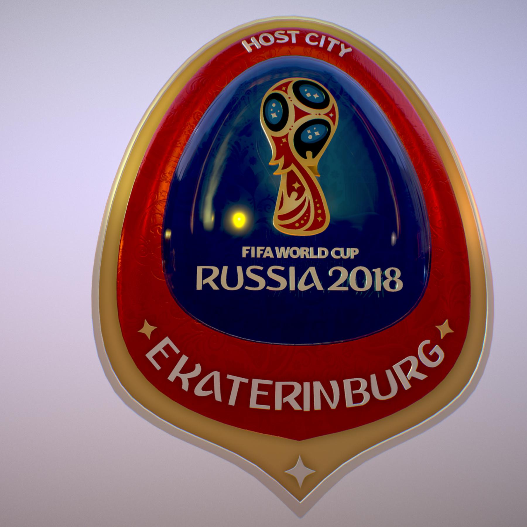 ekaterinburg city world cup russia 2018 symbol 3d model max  fbx jpeg jpg ma mb obj 271733