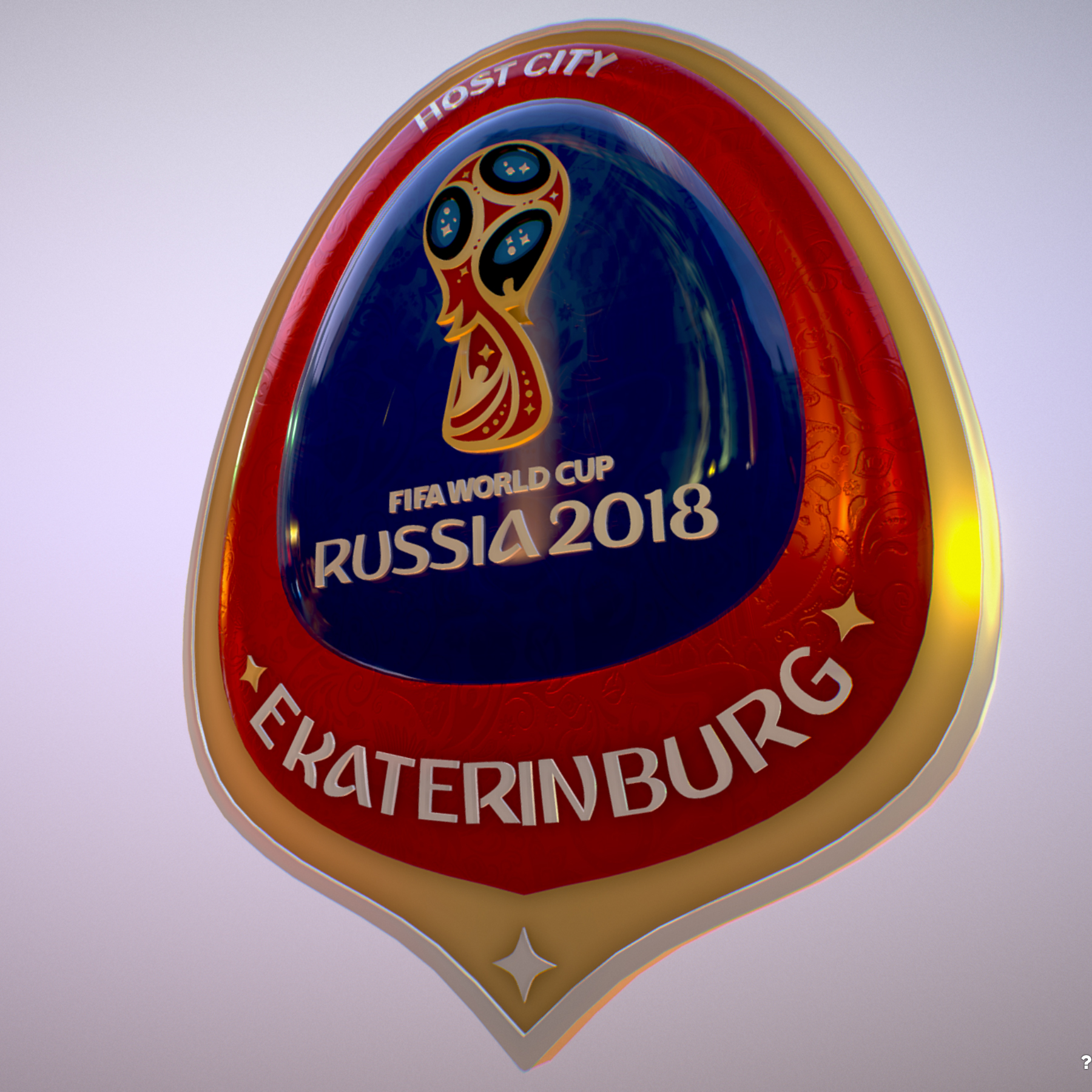 ekaterinburg city world cup russia 2018 symbol 3d model max  fbx jpeg jpg ma mb obj 271734