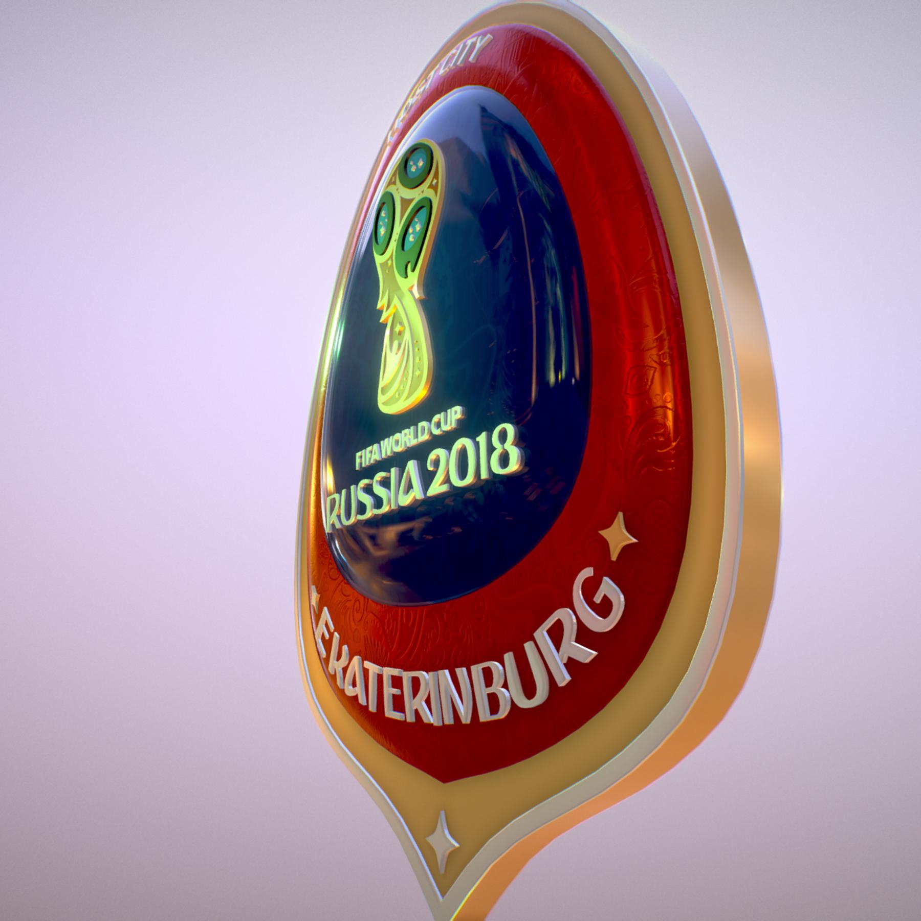 ekaterinburg city world cup russia 2018 symbol 3d model max  fbx jpeg jpg ma mb obj 271735