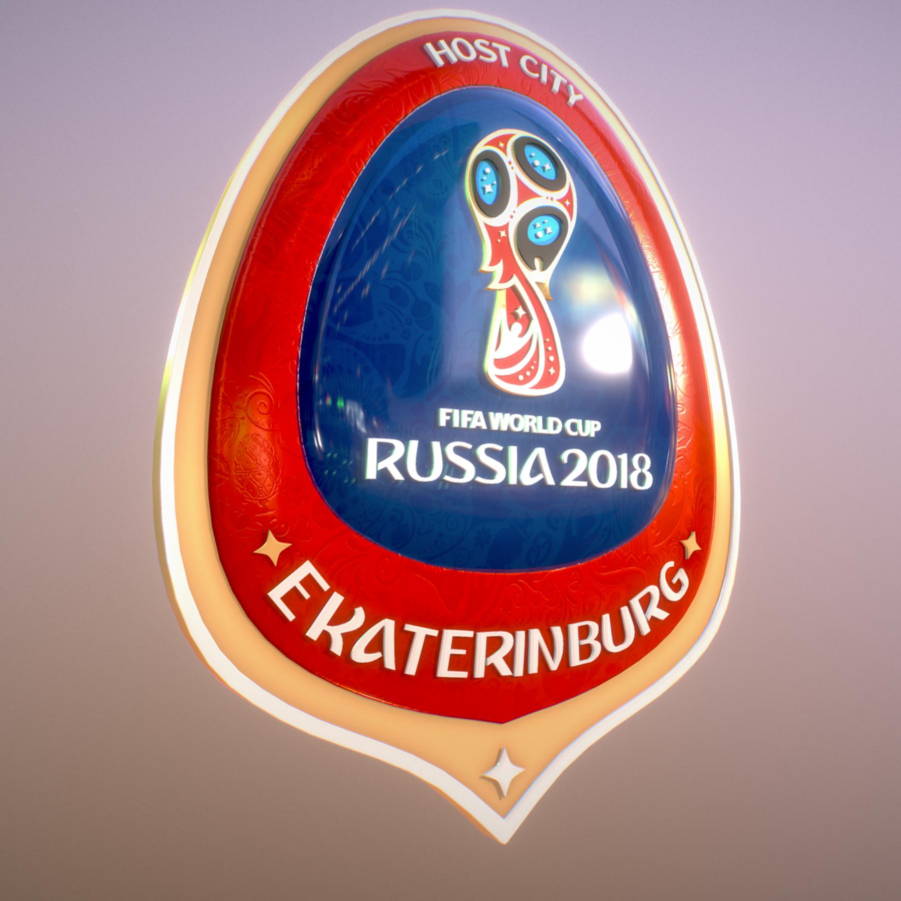ekaterinburg city world cup russia 2018 symbol 3d model max  fbx jpeg jpg ma mb obj 271737