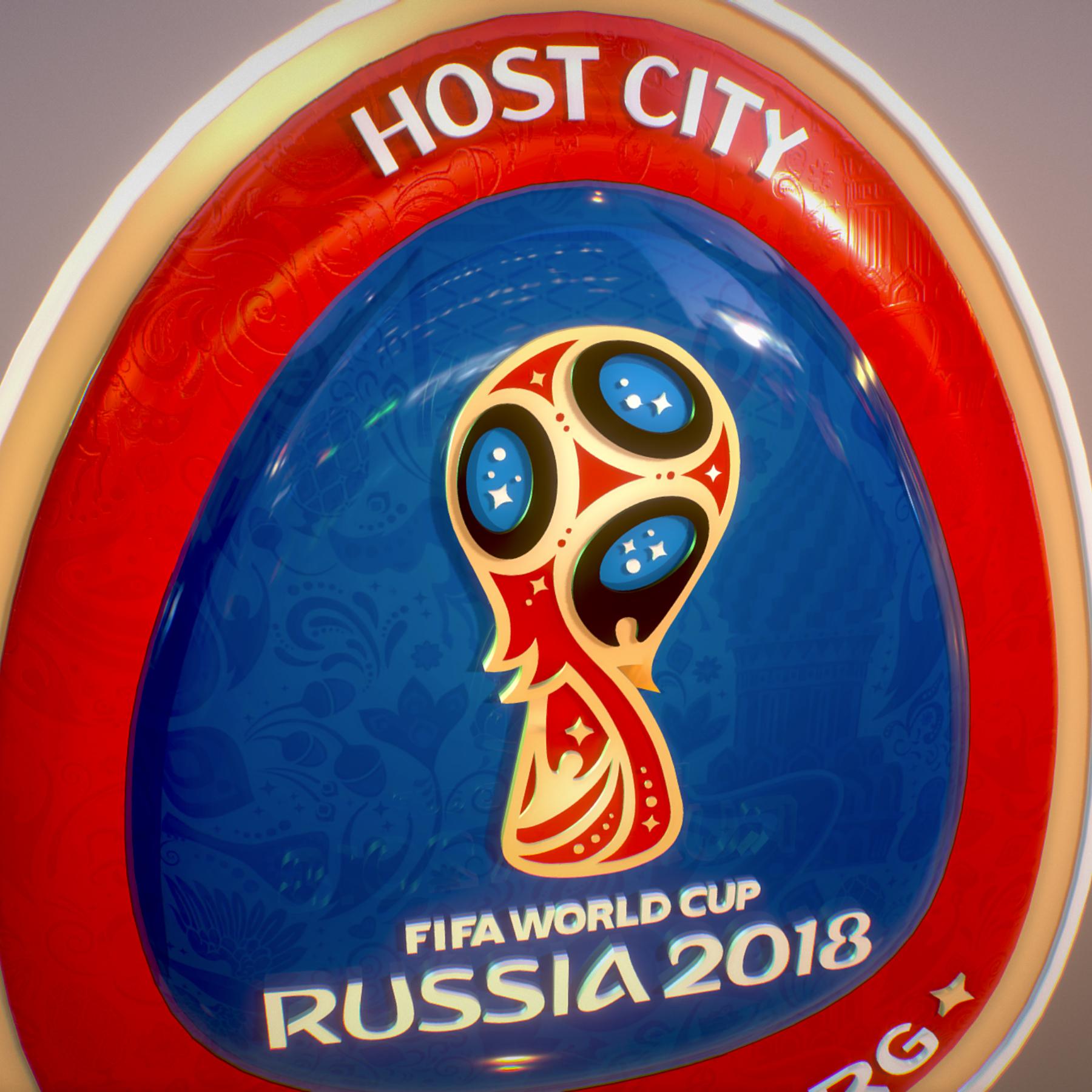 ekaterinburg city world cup russia 2018 symbol 3d model max  fbx jpeg jpg ma mb obj 271739