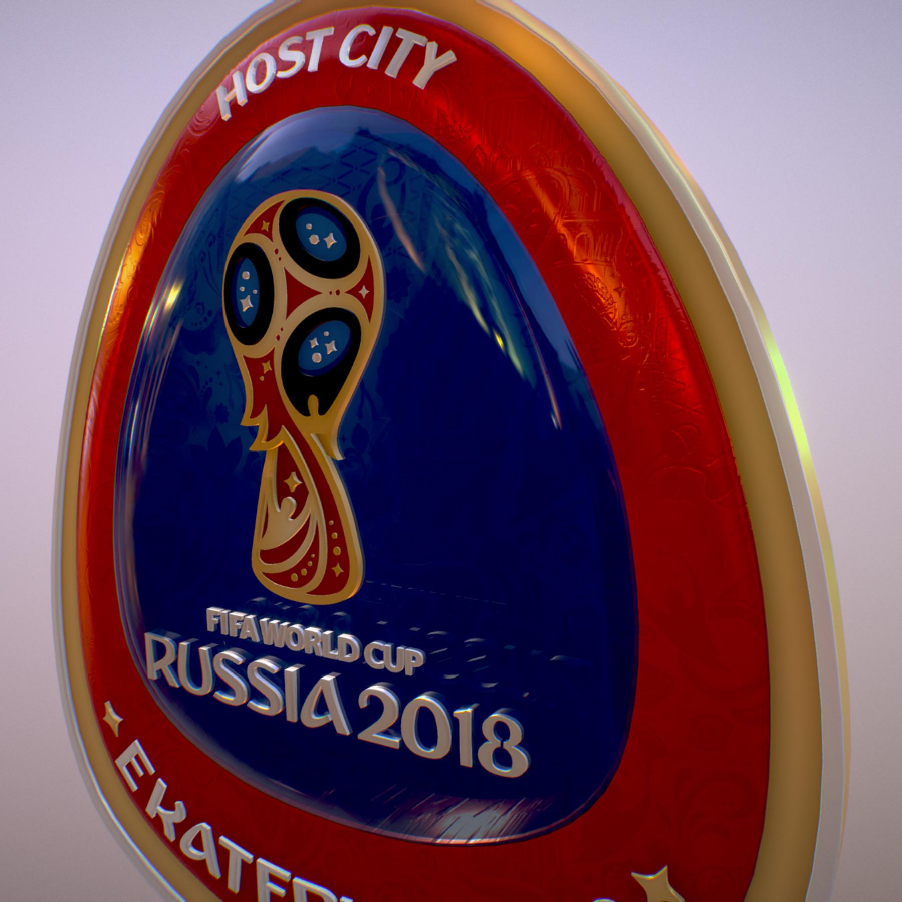 ekaterinburg city world cup russia 2018 symbol 3d model max  fbx jpeg jpg ma mb obj 271740