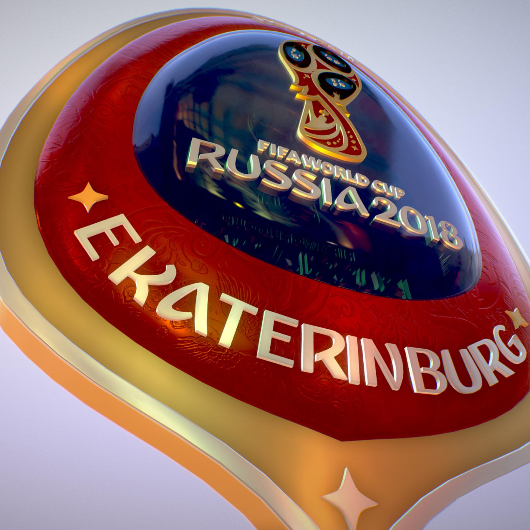 ekaterinburg city world cup russia 2018 symbol 3d model max  fbx jpeg jpg ma mb obj 271741