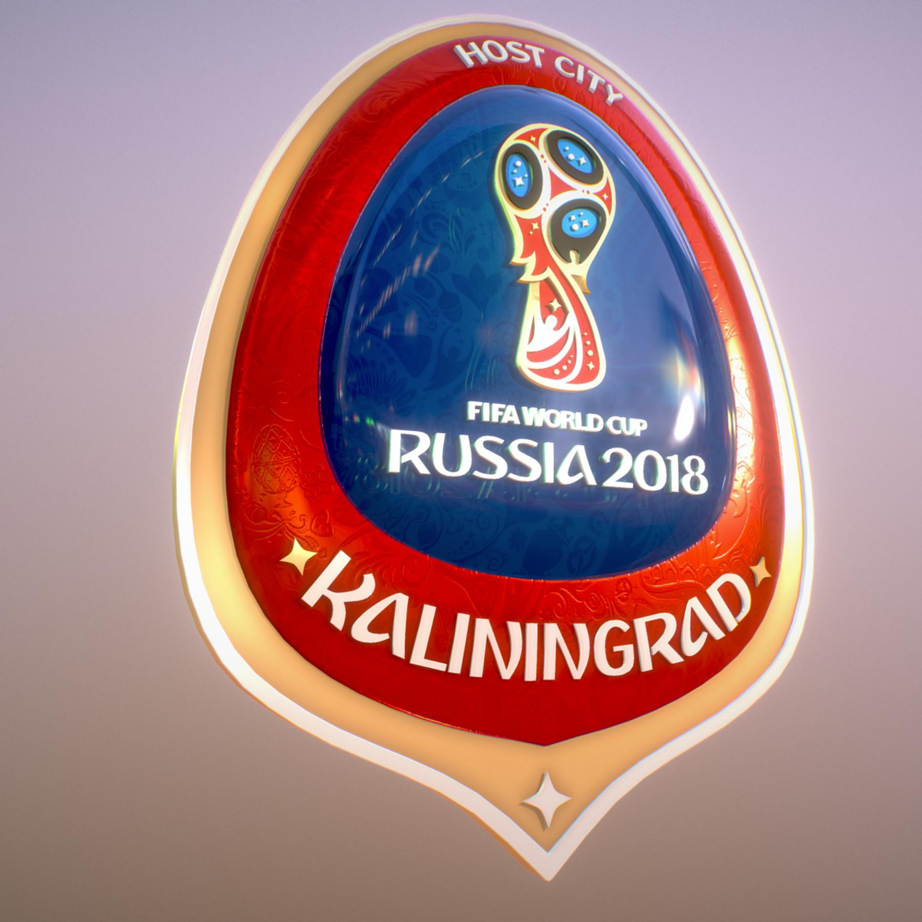 Kaliningrad City World Cup Russia 2018 Symbol 3d model max 3ds max plugin fbx jpeg ma mb obj 271748