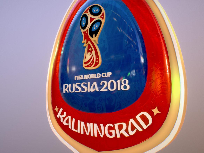 Kaliningrad City World Cup Russia 2018 Symbol 3d model  max 3ds max plugin fbx jpeg ma mb obj