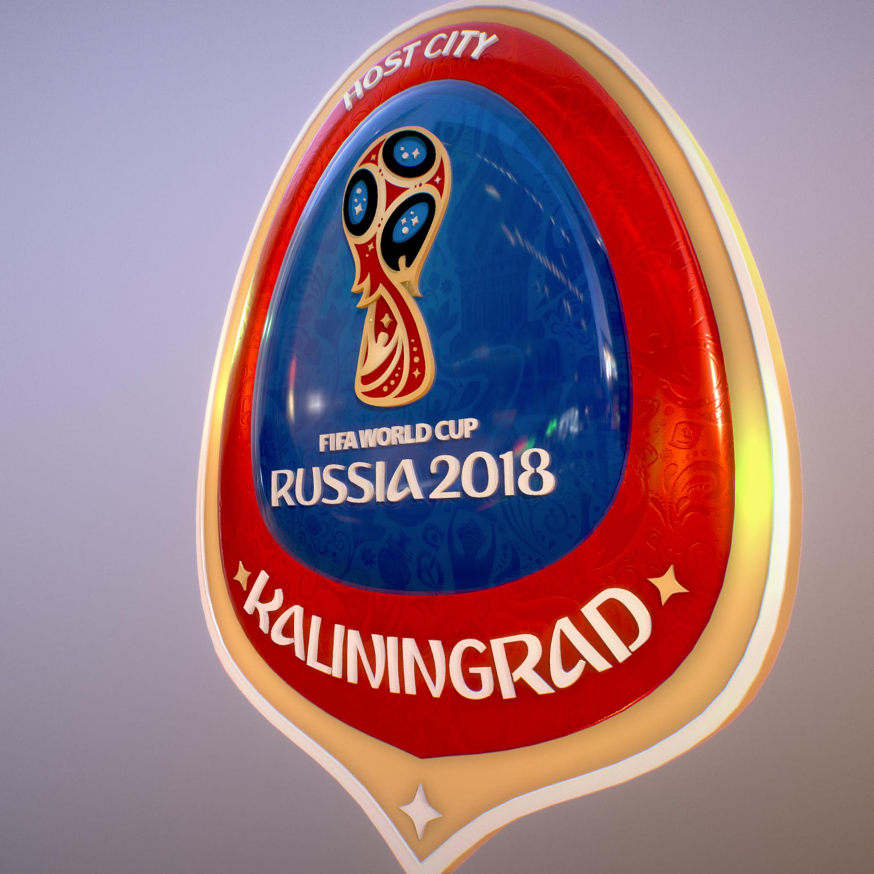 Kaliningrad City World Cup Russia 2018 Symbol 3d model max 3ds max plugin fbx jpeg ma mb obj 271750