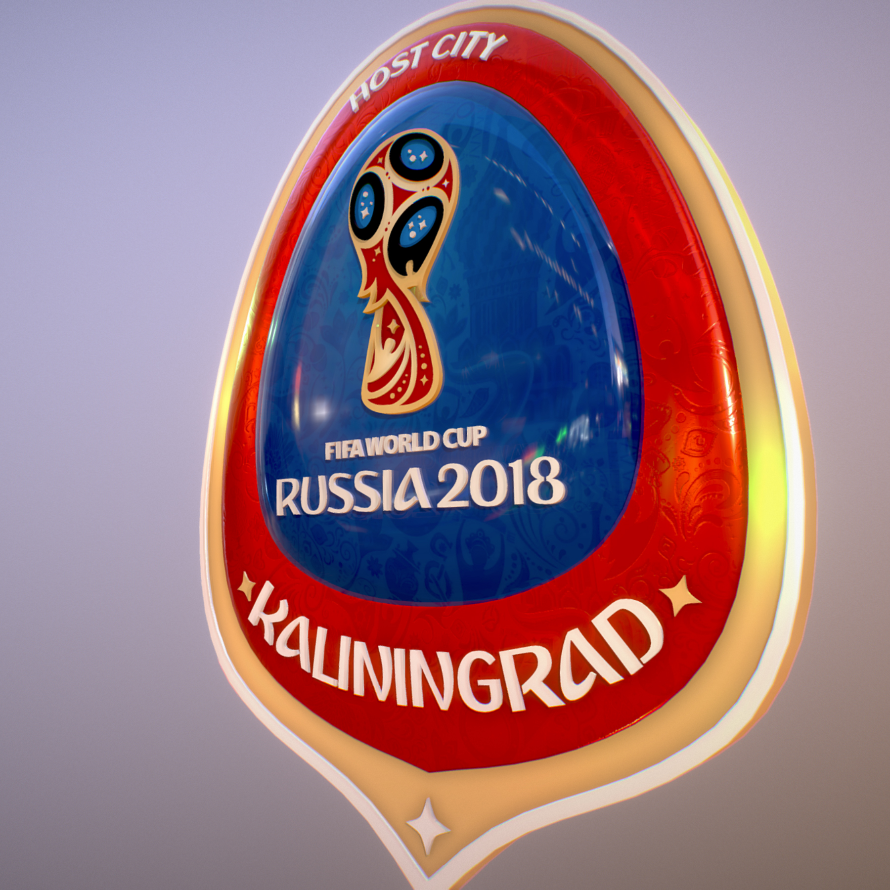 kaliningrad city world cup Rusija 2018 simbol 3d model max fbx jpeg jpg ma mb obj 271750