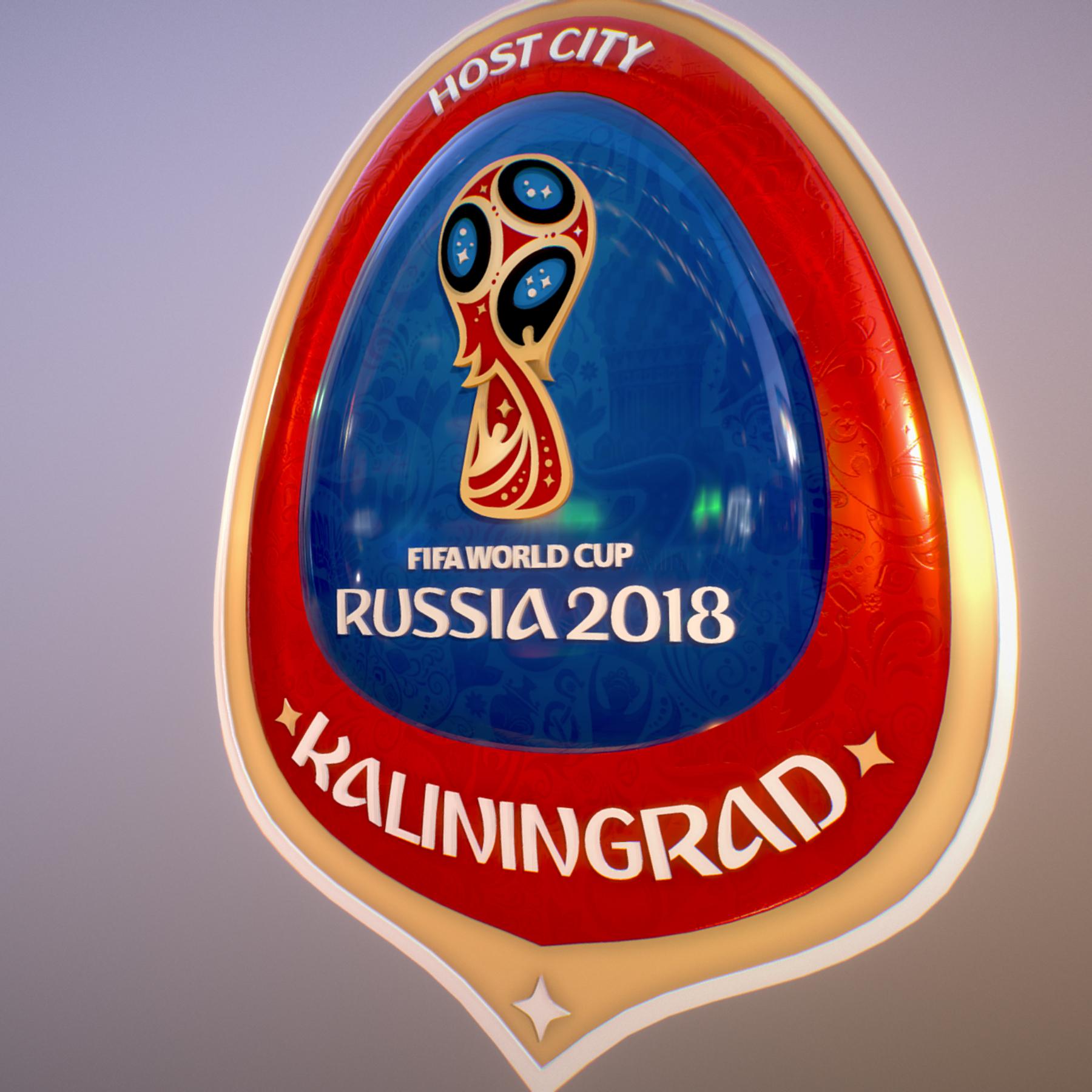 Kaliningrad City World Cup Russia 2018 Symbol 3d model max 3ds max plugin fbx jpeg ma mb obj 271751