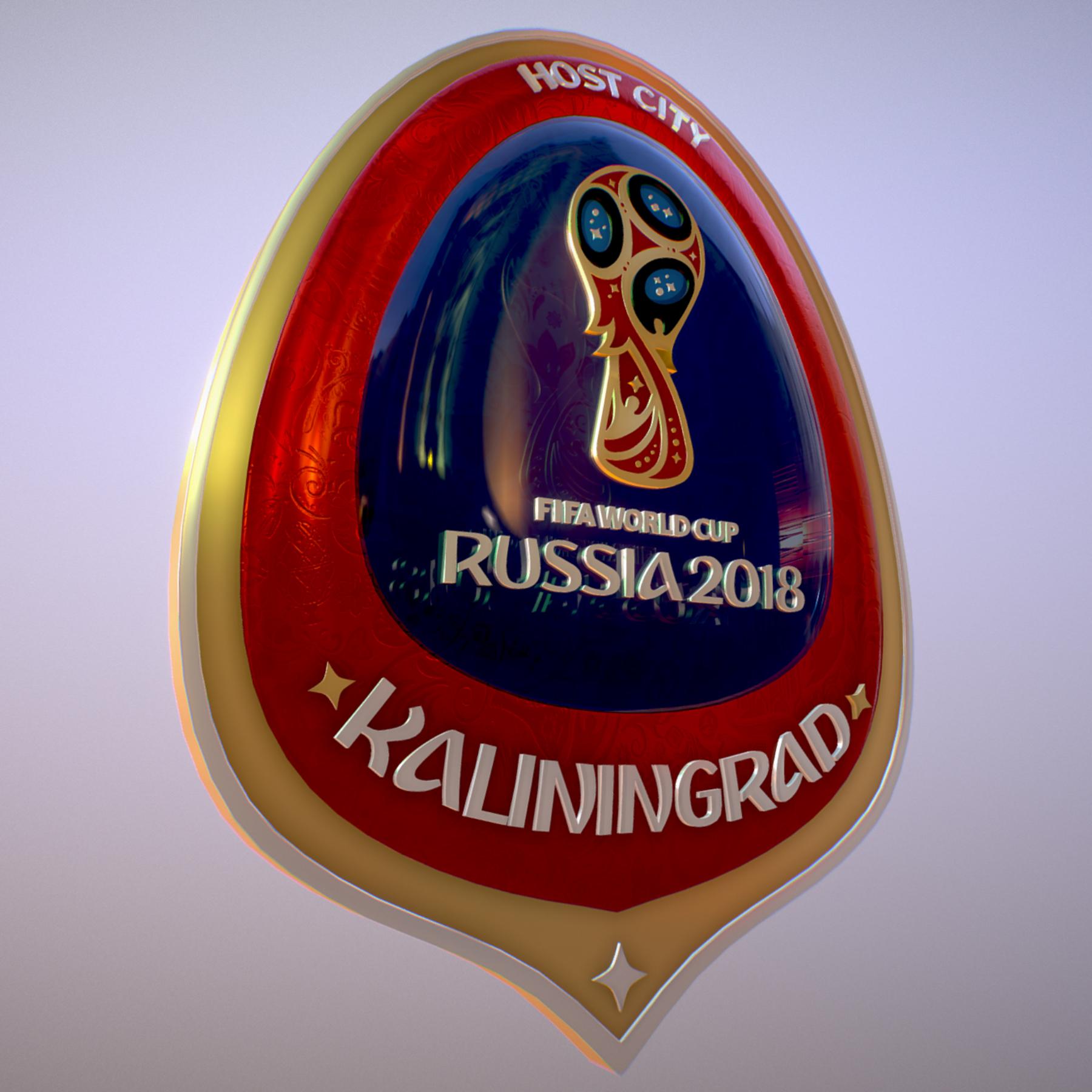 Kaliningrad City World Cup Russia 2018 Symbol 3d model max 3ds max plugin fbx jpeg ma mb obj 271753