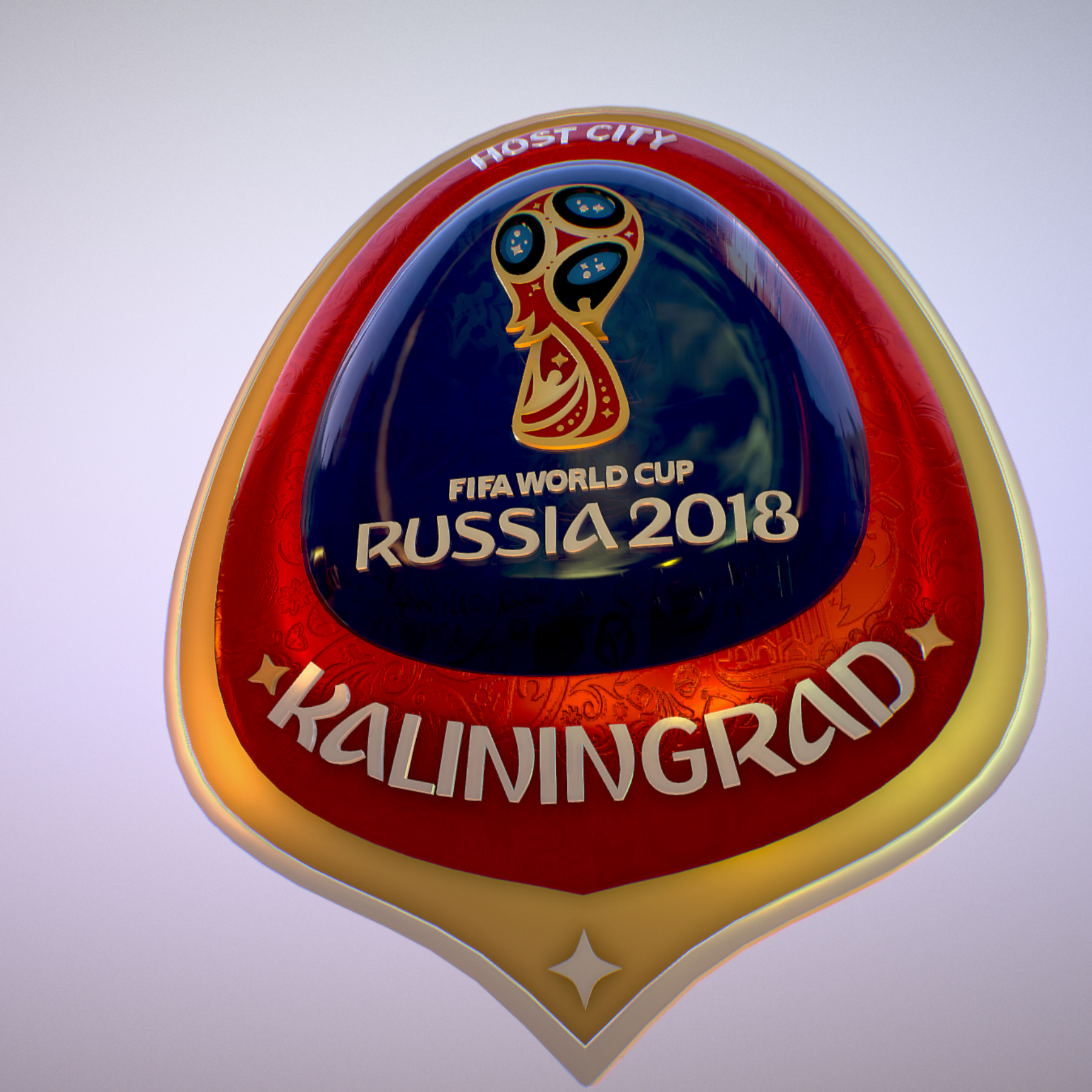 Kaliningrad City World Cup Russia 2018 Symbol 3d model max 3ds max plugin fbx jpeg ma mb obj 271754