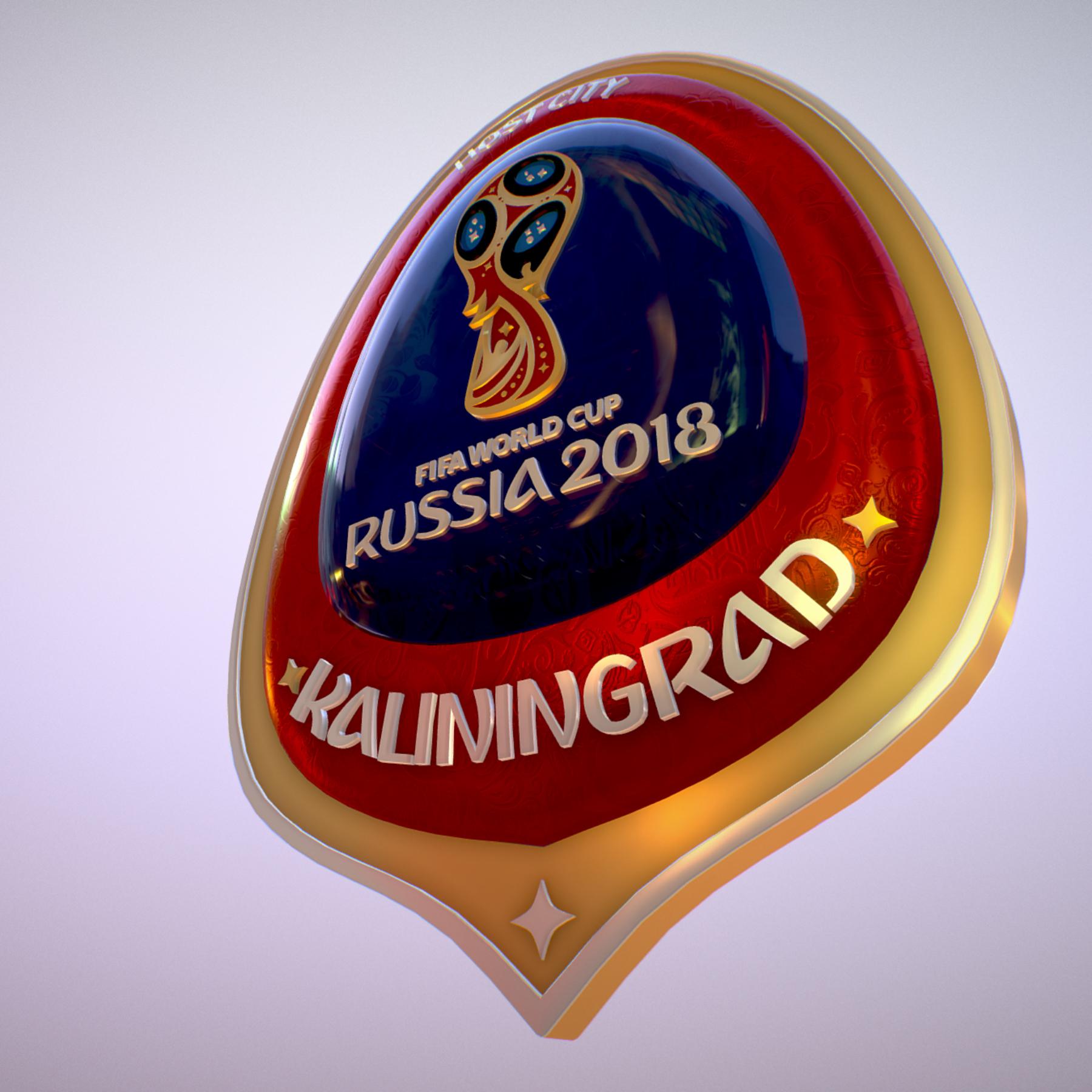 Kaliningrad City World Cup Russia 2018 Symbol 3d model max 3ds max plugin fbx jpeg ma mb obj 271755