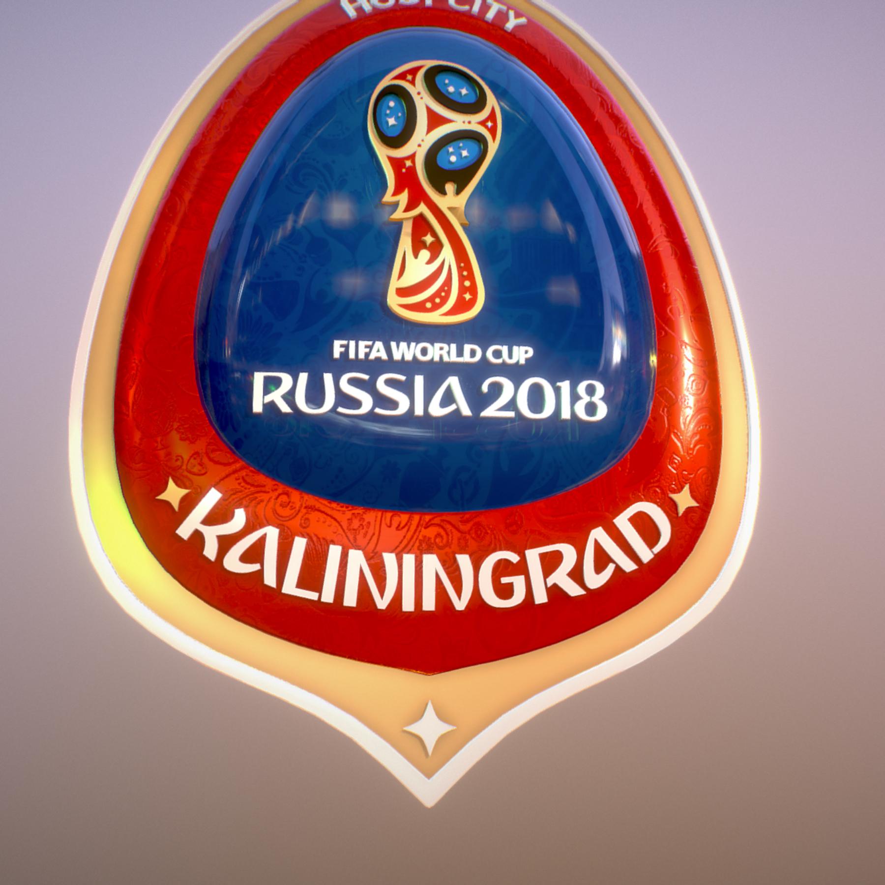 Kaliningrad City World Cup Russia 2018 Symbol 3d model max 3ds max plugin fbx jpeg ma mb obj 271758
