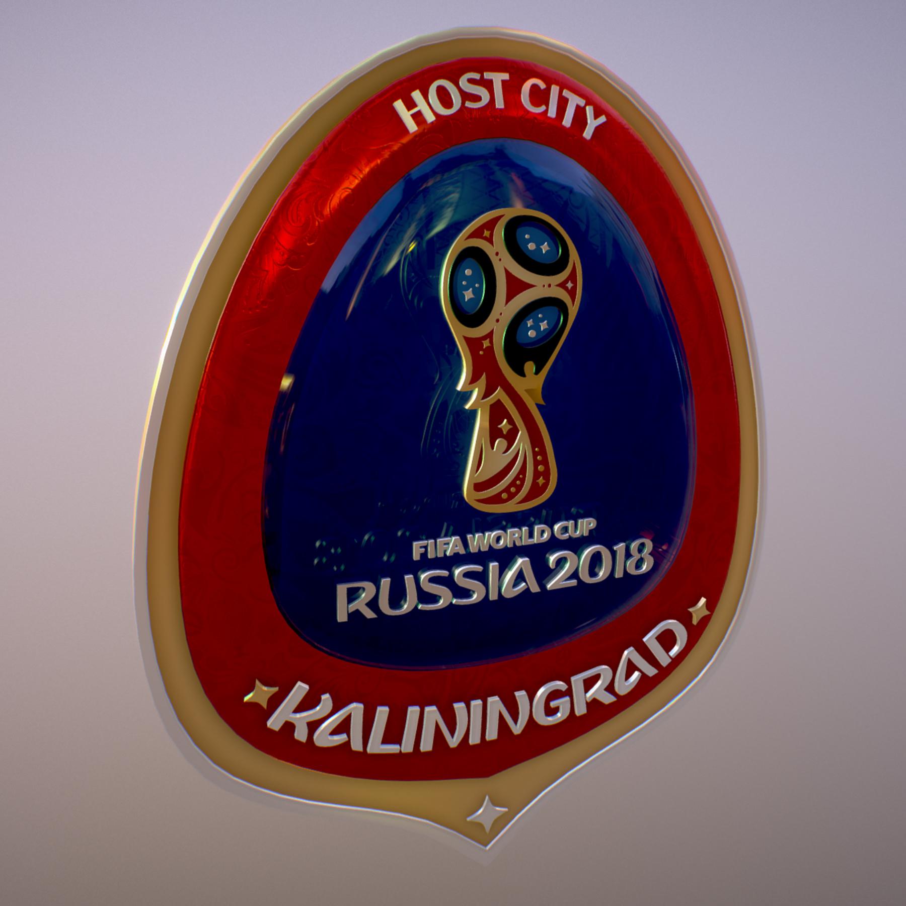 Kaliningrad City World Cup Russia 2018 Symbol 3d model max 3ds max plugin fbx jpeg ma mb obj 271759