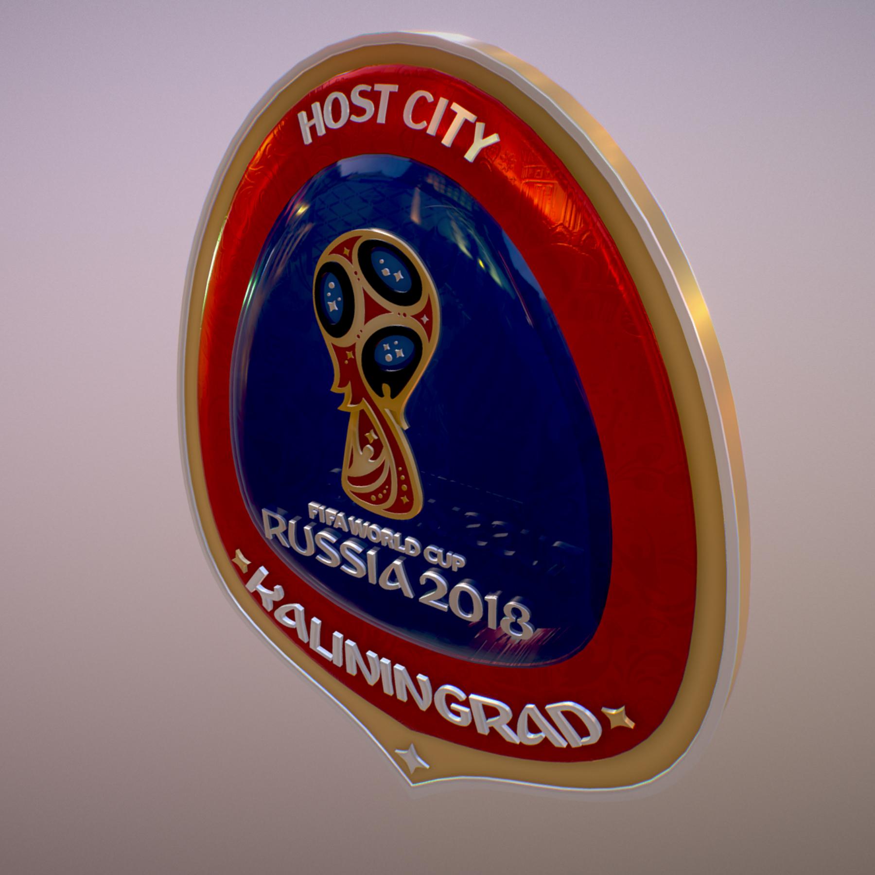 Kaliningrad City World Cup Russia 2018 Symbol 3d model max 3ds max plugin fbx jpeg ma mb obj 271760